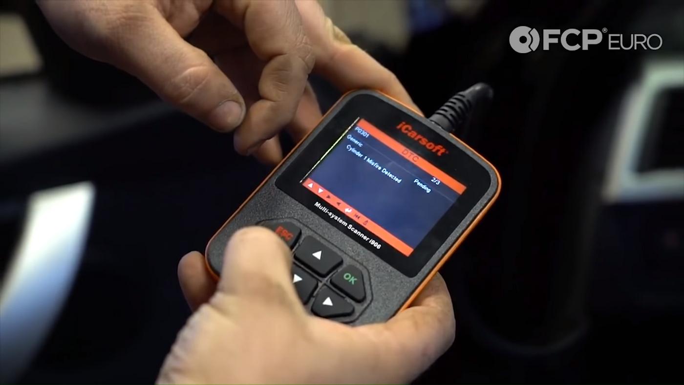 BMW Ignition Coil OBDII Scanner