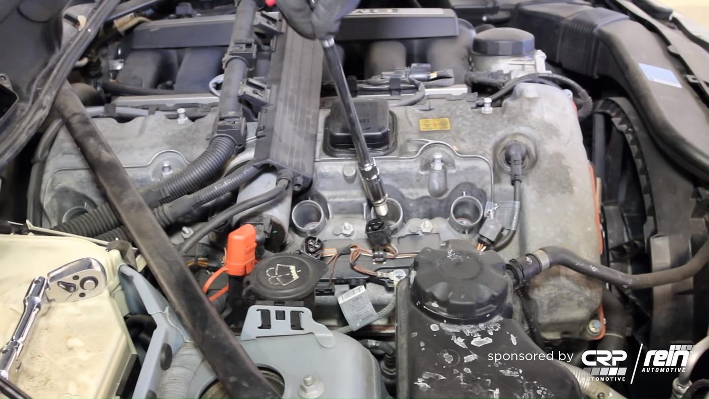 BMW E90 Spark Plug Removal