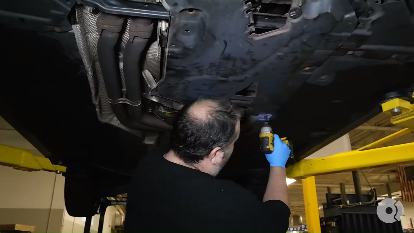 BMW Automatic Trans Reassembly