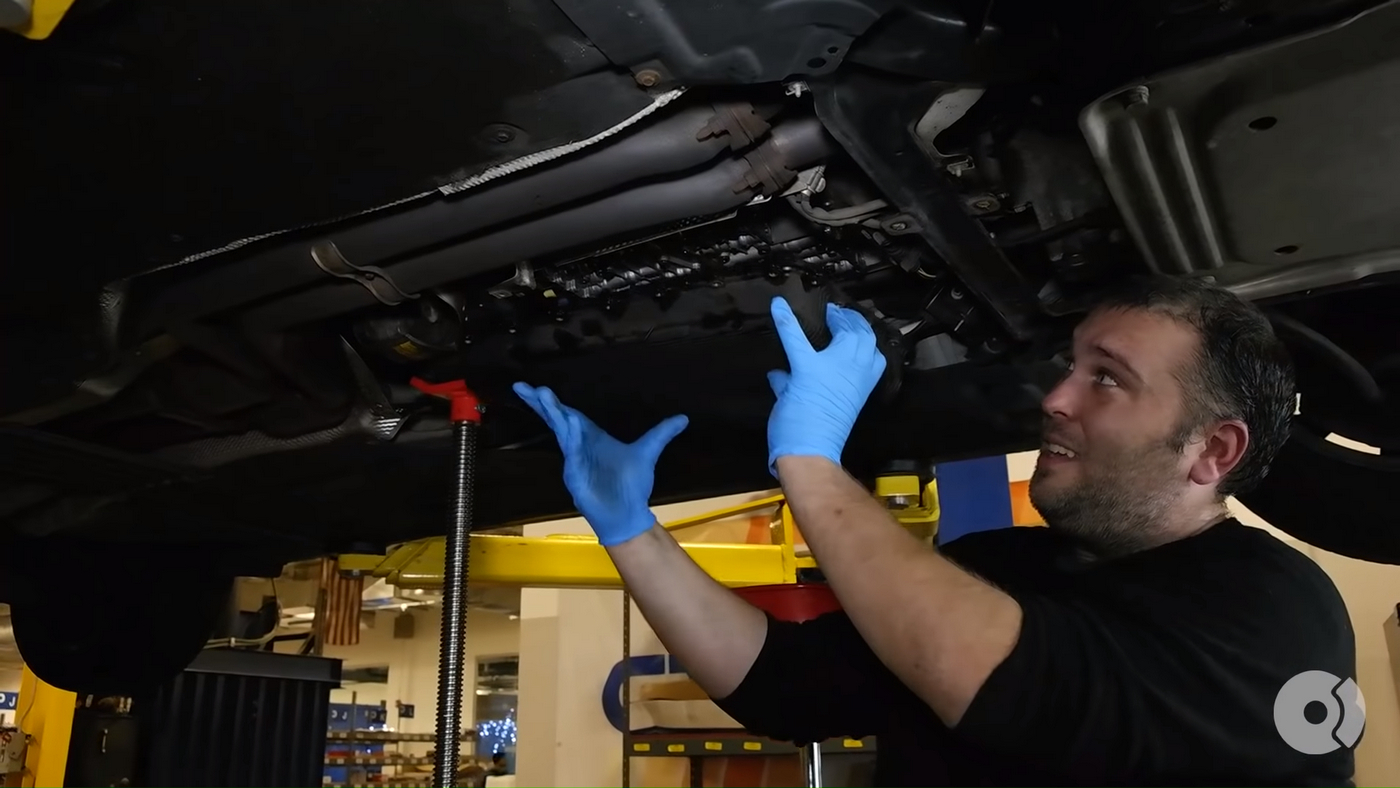 BMW Automatic Trans Removal