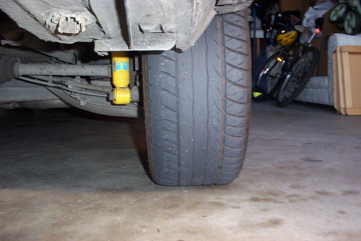 E36 Uneven Tire Wear