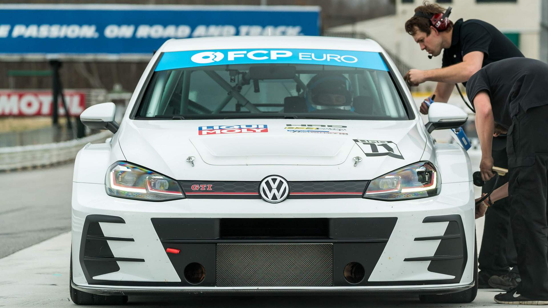 New TCR without livery