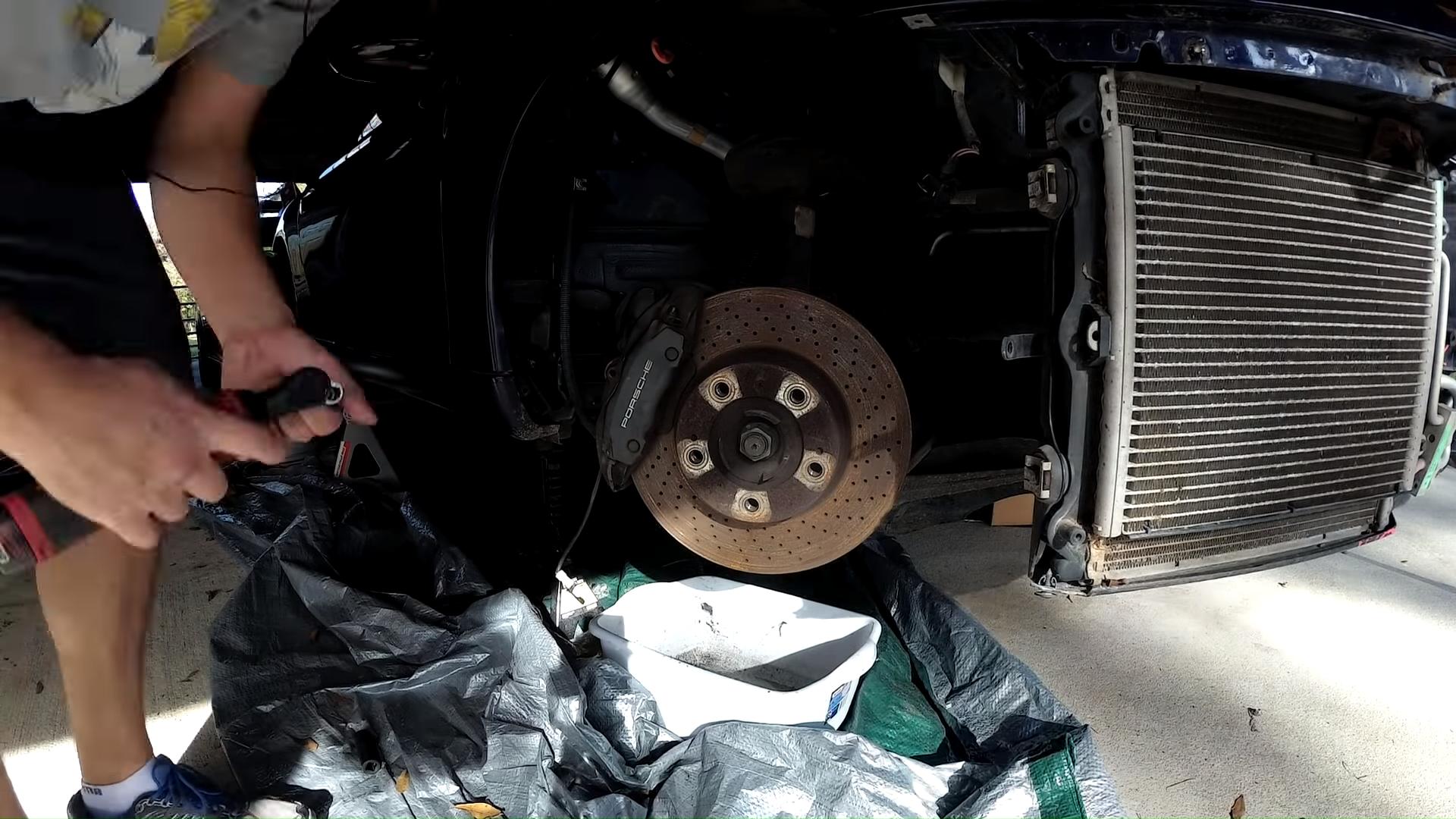 Samcrac 911 Brake Caliper Refinish