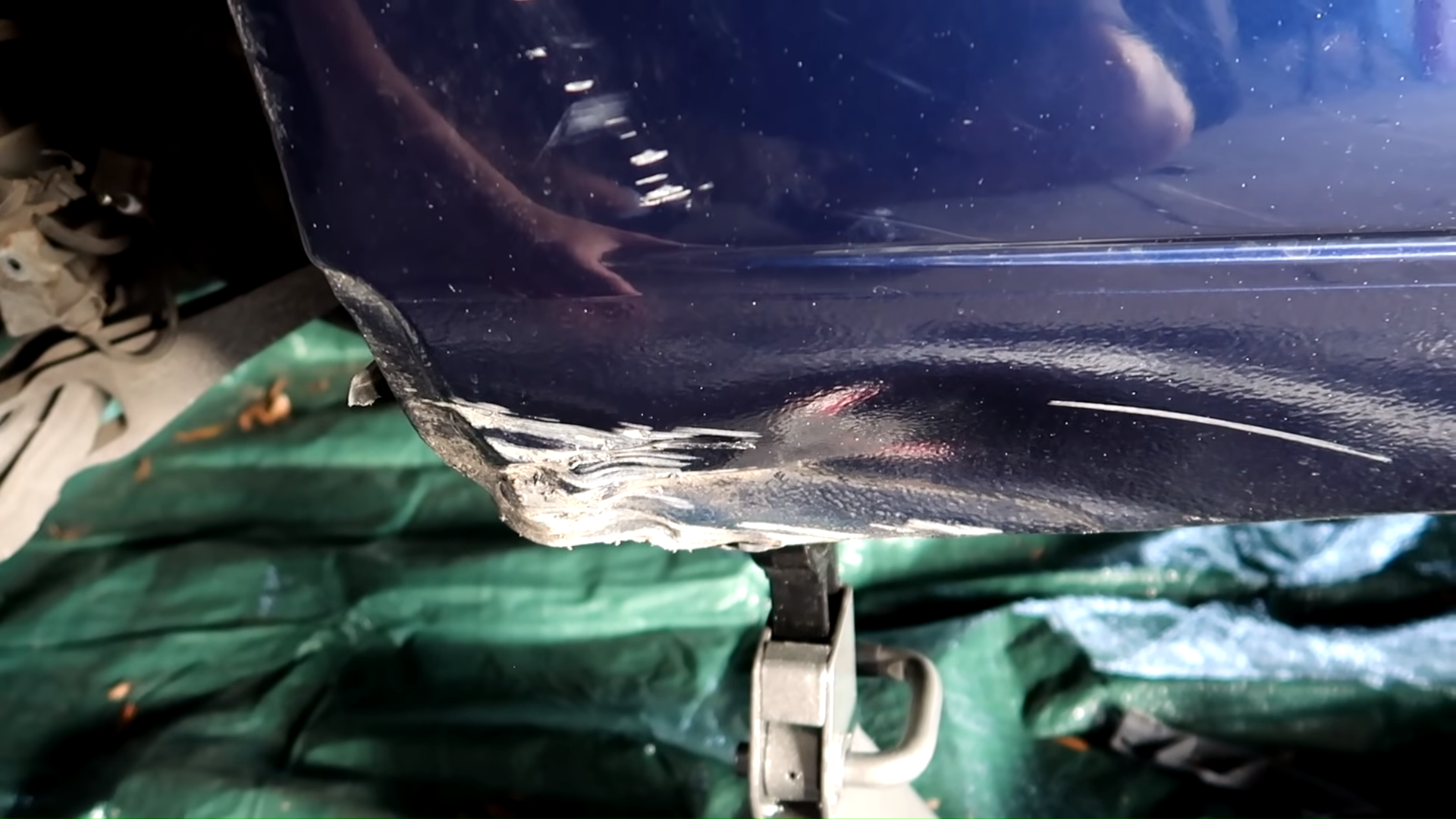 Samcrac 911 Rocker Panel Damage