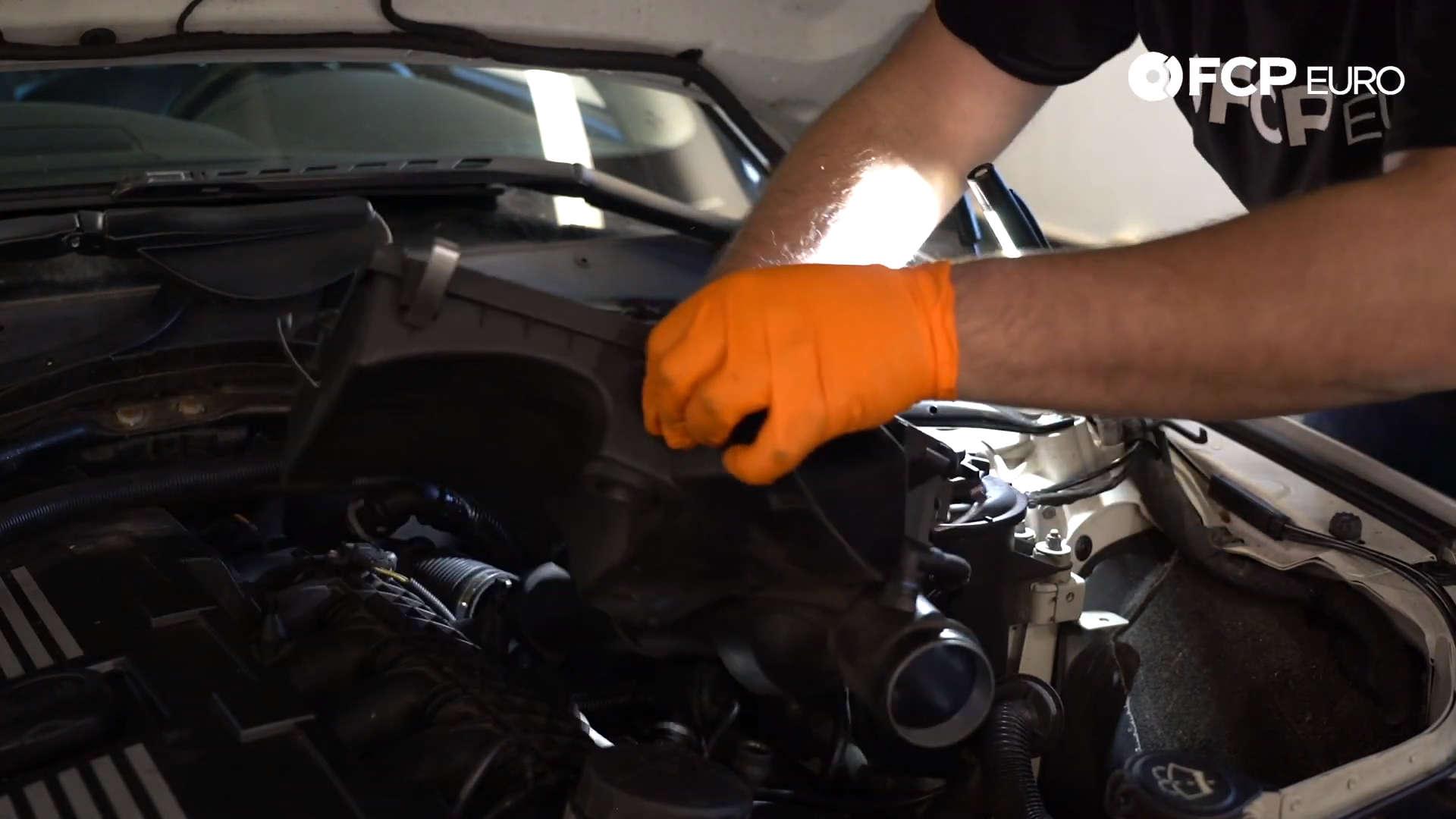 N54 Air Box Removal