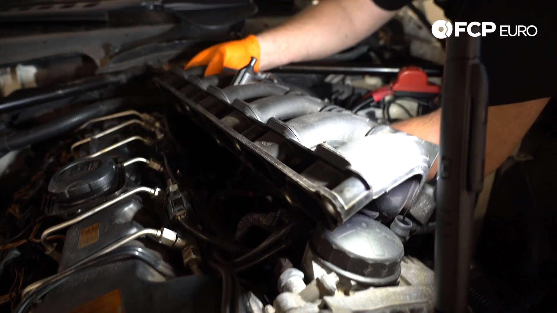 N54 Intake Manifold Removal