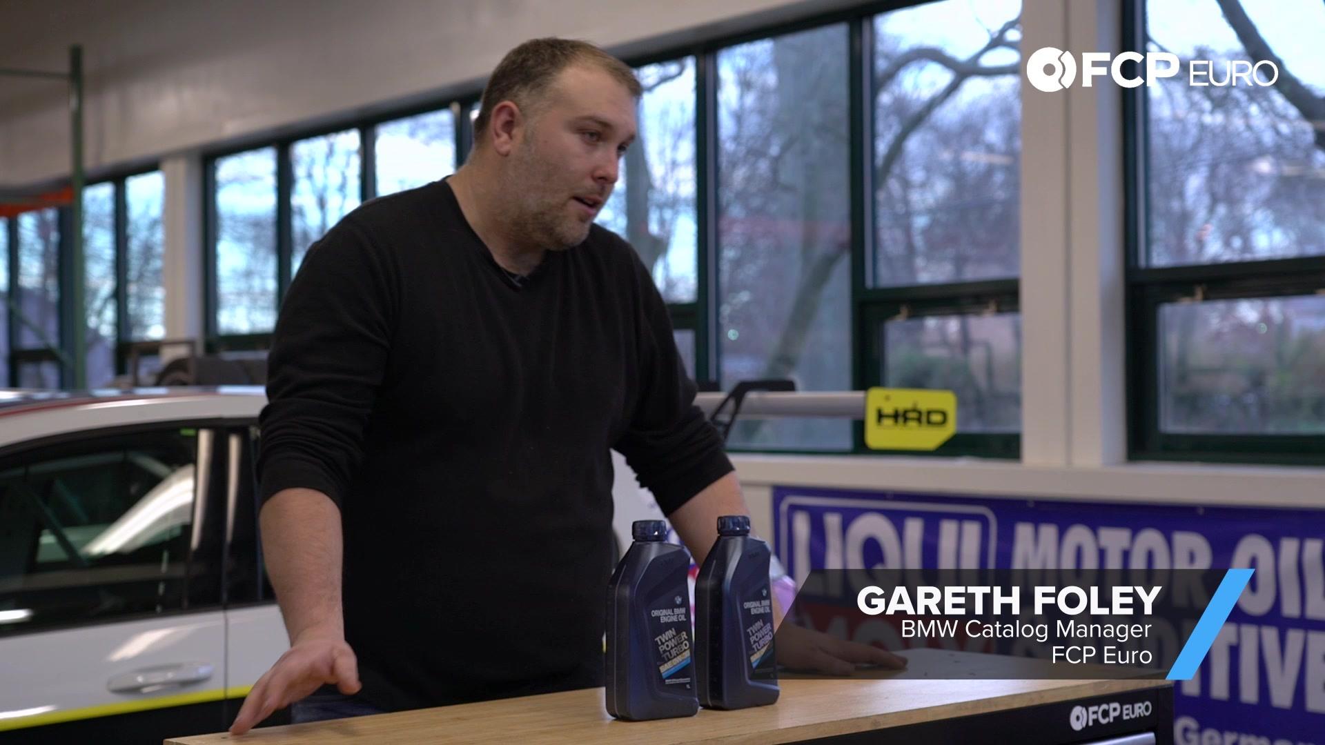 Gareth Foley BMW Oil Designation Change