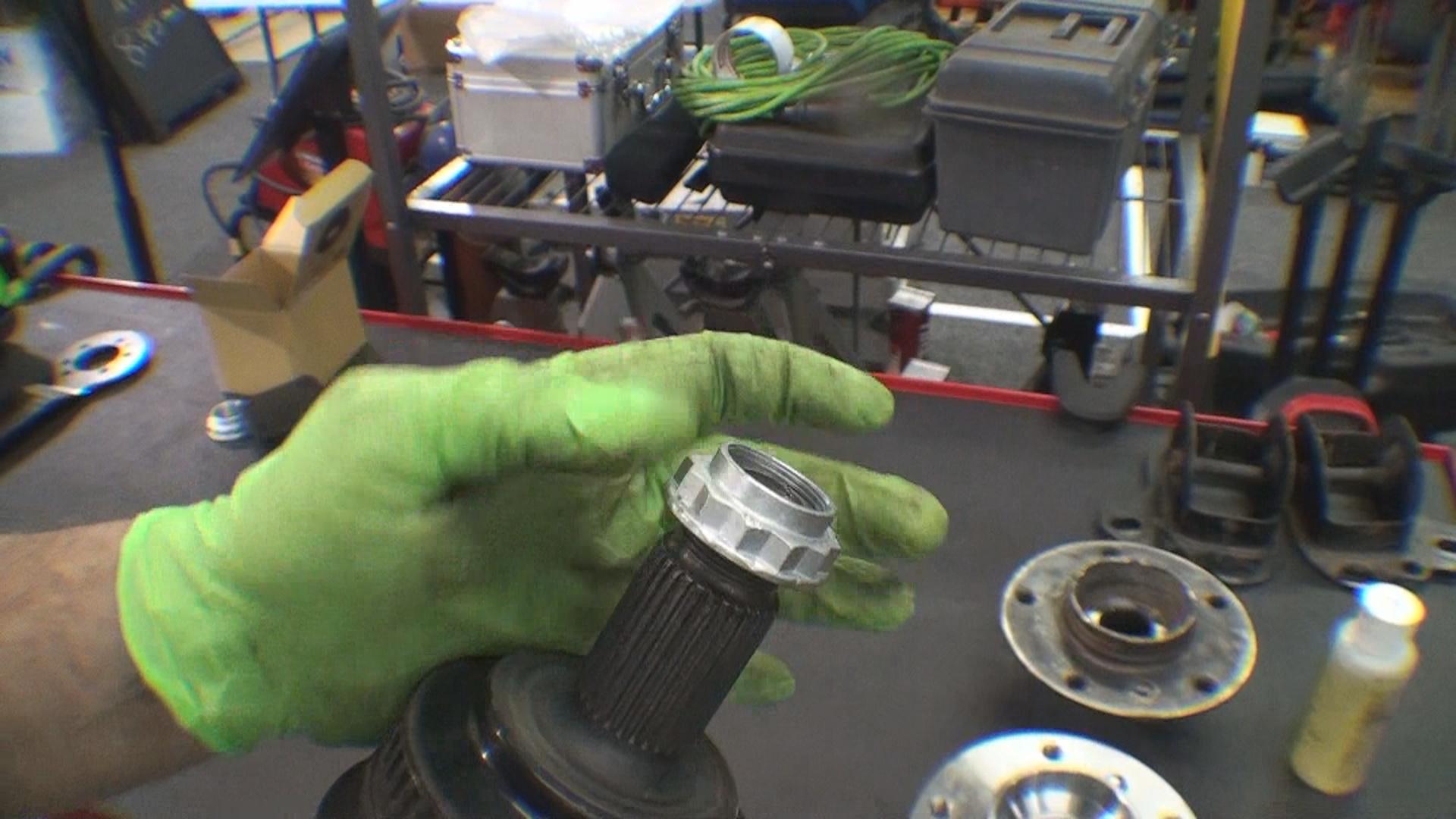 Axle Nut Inspection