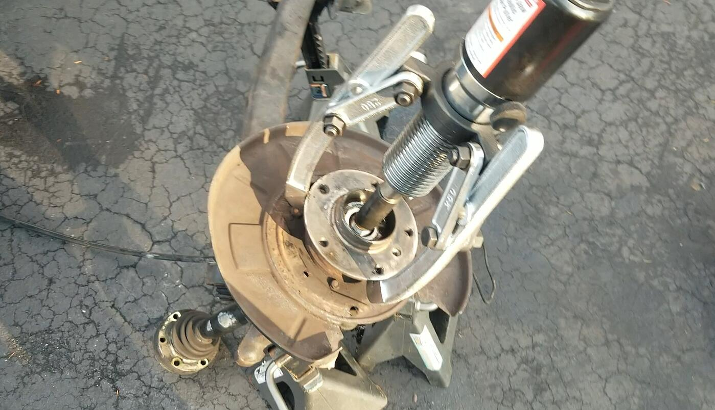 How To Repair Damaged Axle Shaft Threads On Your BMW (E36