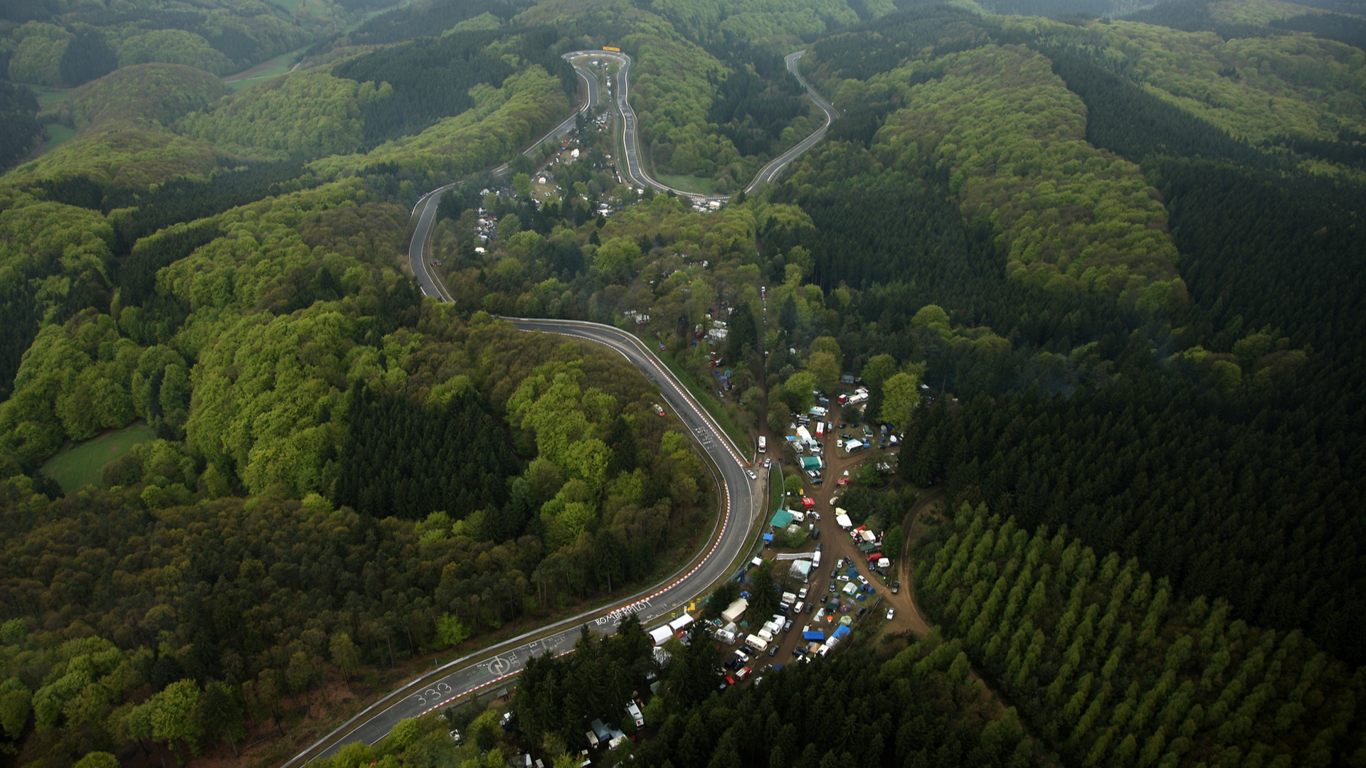 Nordschleife From Above