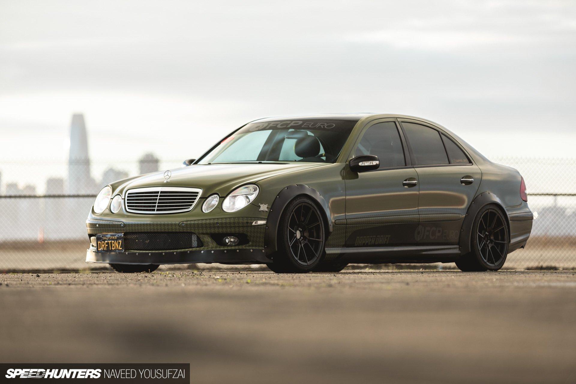 FCP Euro Dapper Drift E55 Mercedes Speedhunters