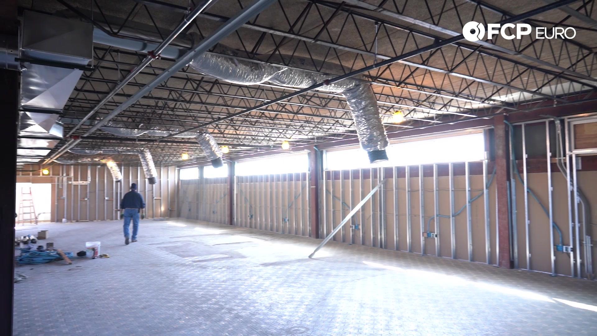 Mezzanine Under Construction