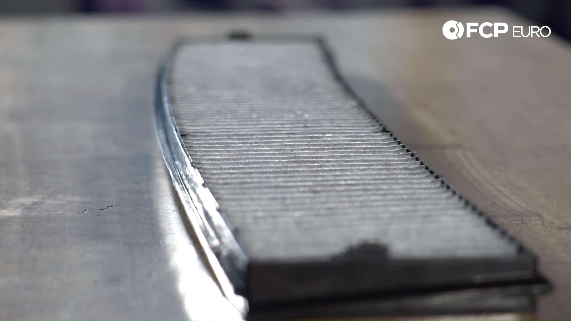Gareth BMW Cabin Air Filter Closeup
