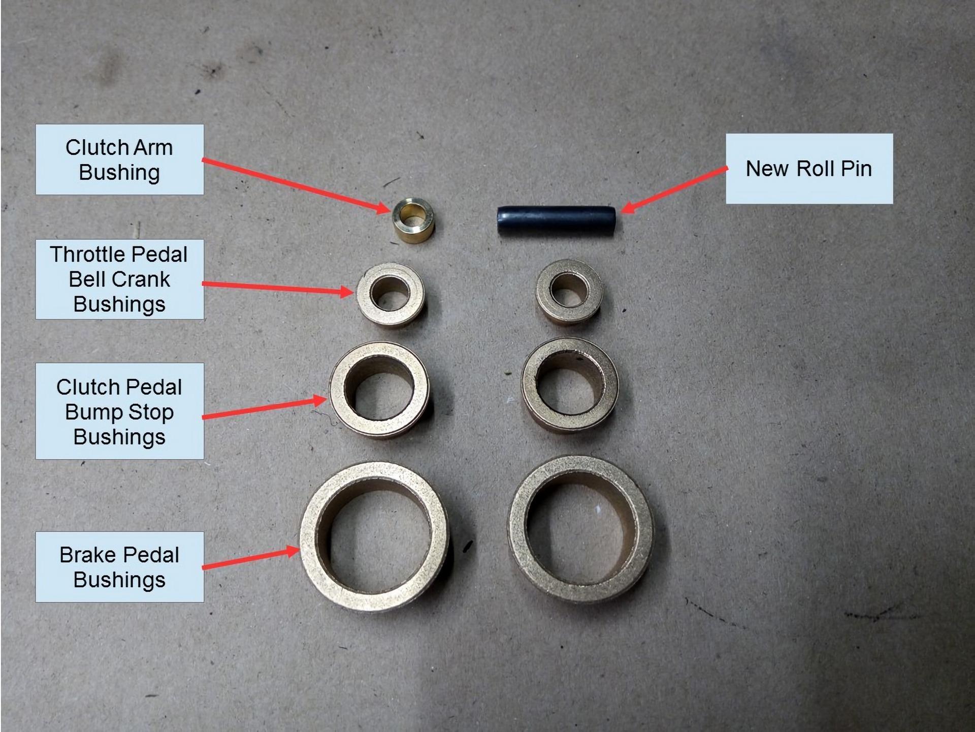 Porsche 911 Pedal Cluster Rebuild 15