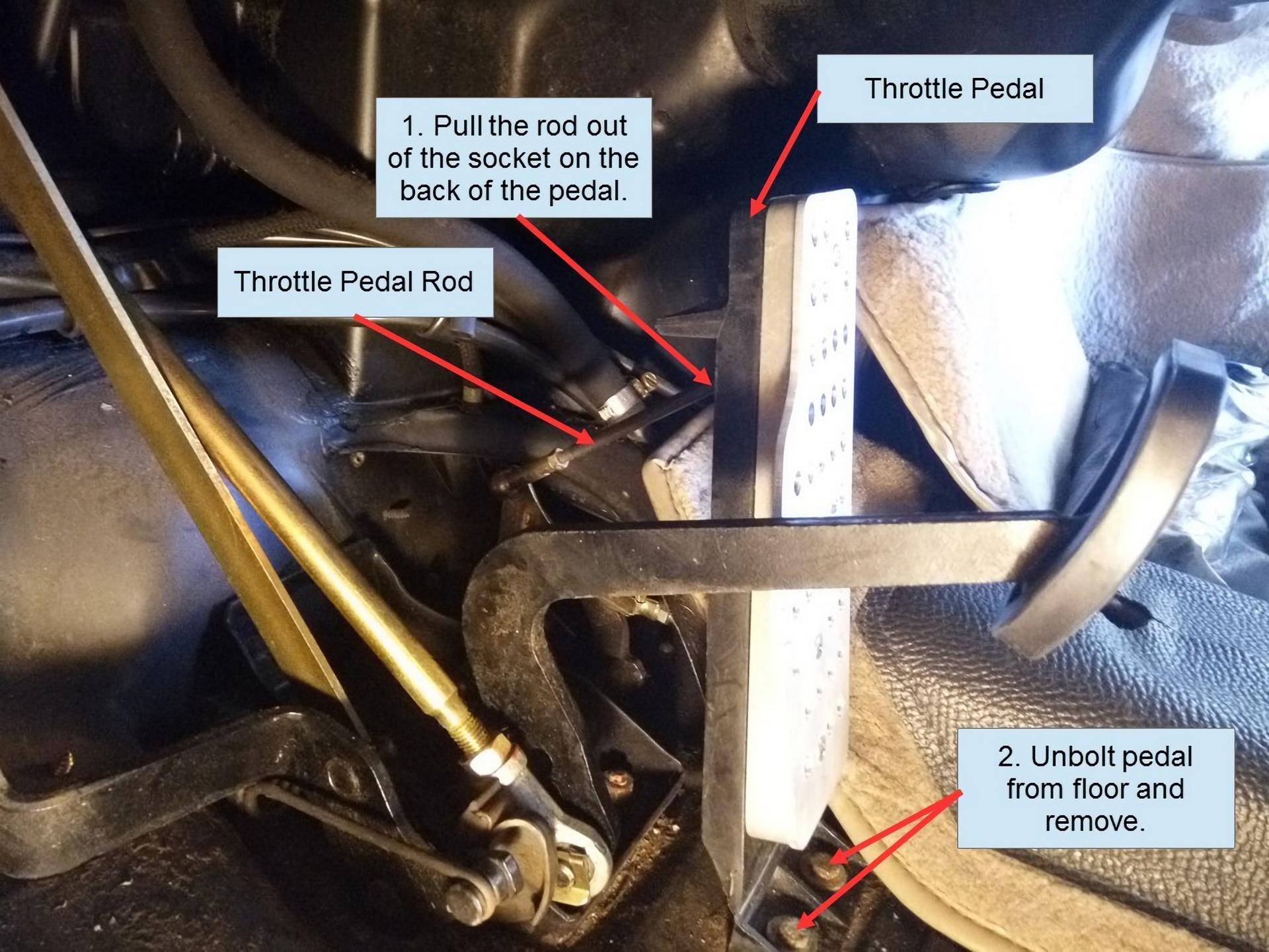 Porsche 911 Pedal Cluster Rebuild 2