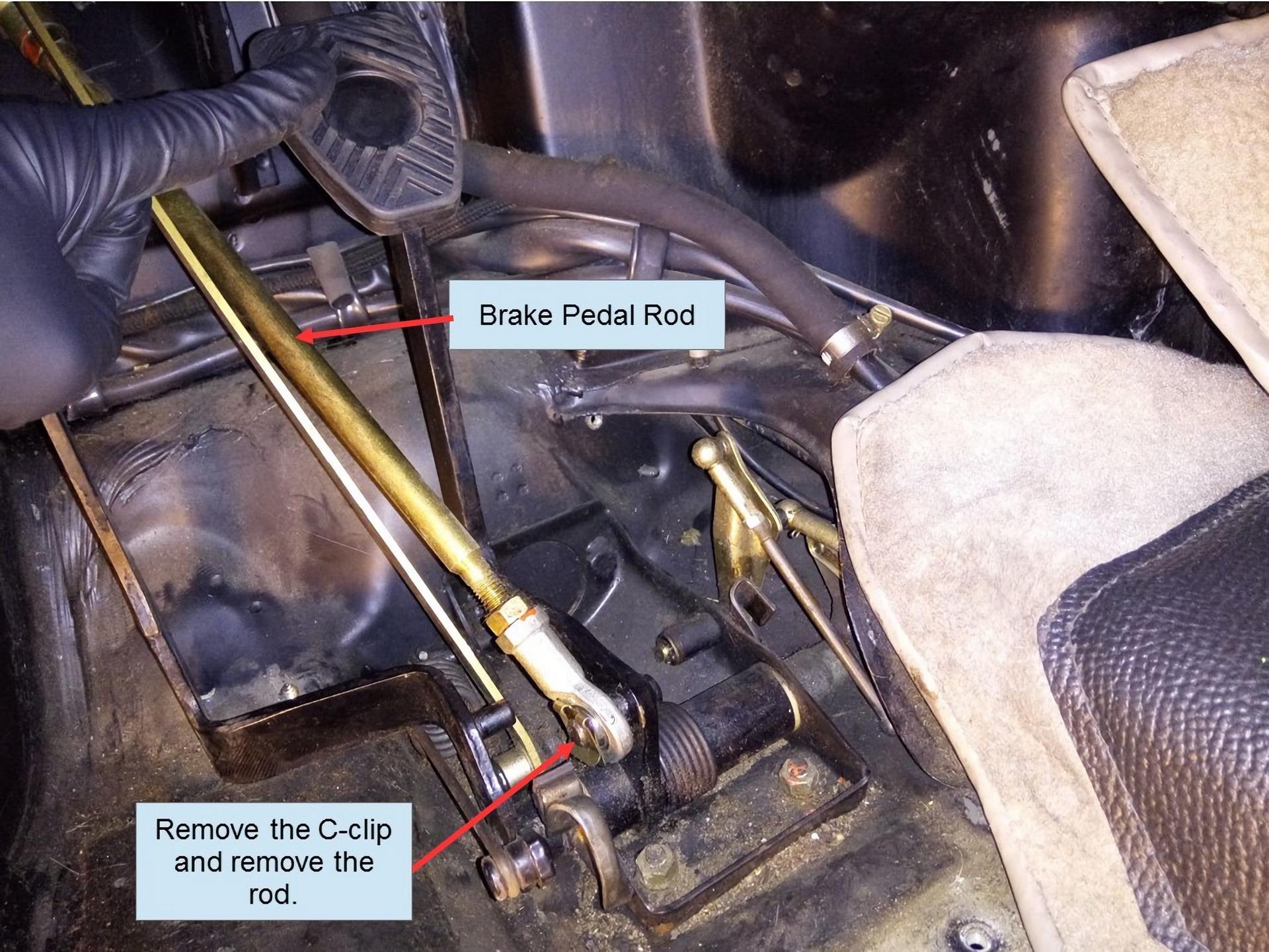 Porsche 911 Pedal Cluster Rebuild 5
