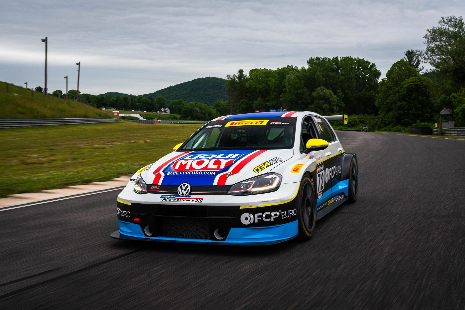FCP Euro Lime Rock Park Sachs Performance 2018 Livery