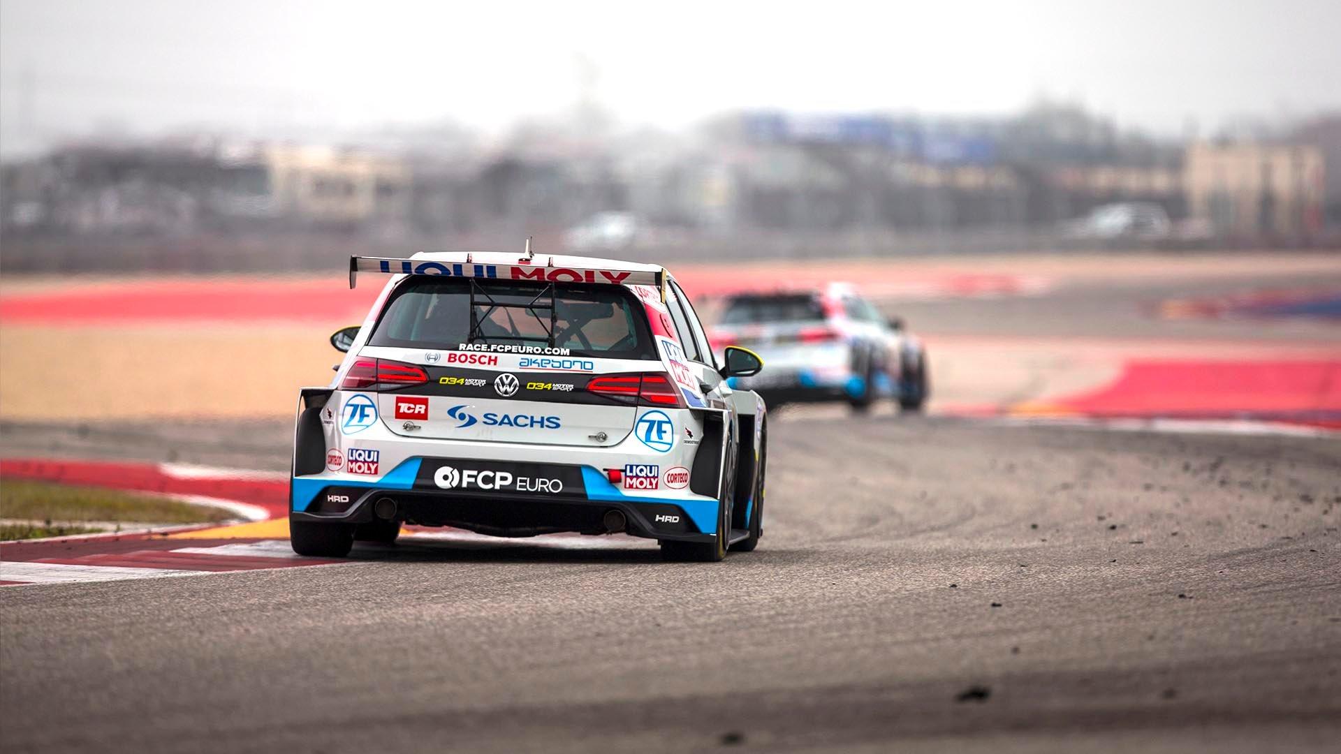 FCP Euro GTI TCR COTA Vincent Chasing Hurczyn