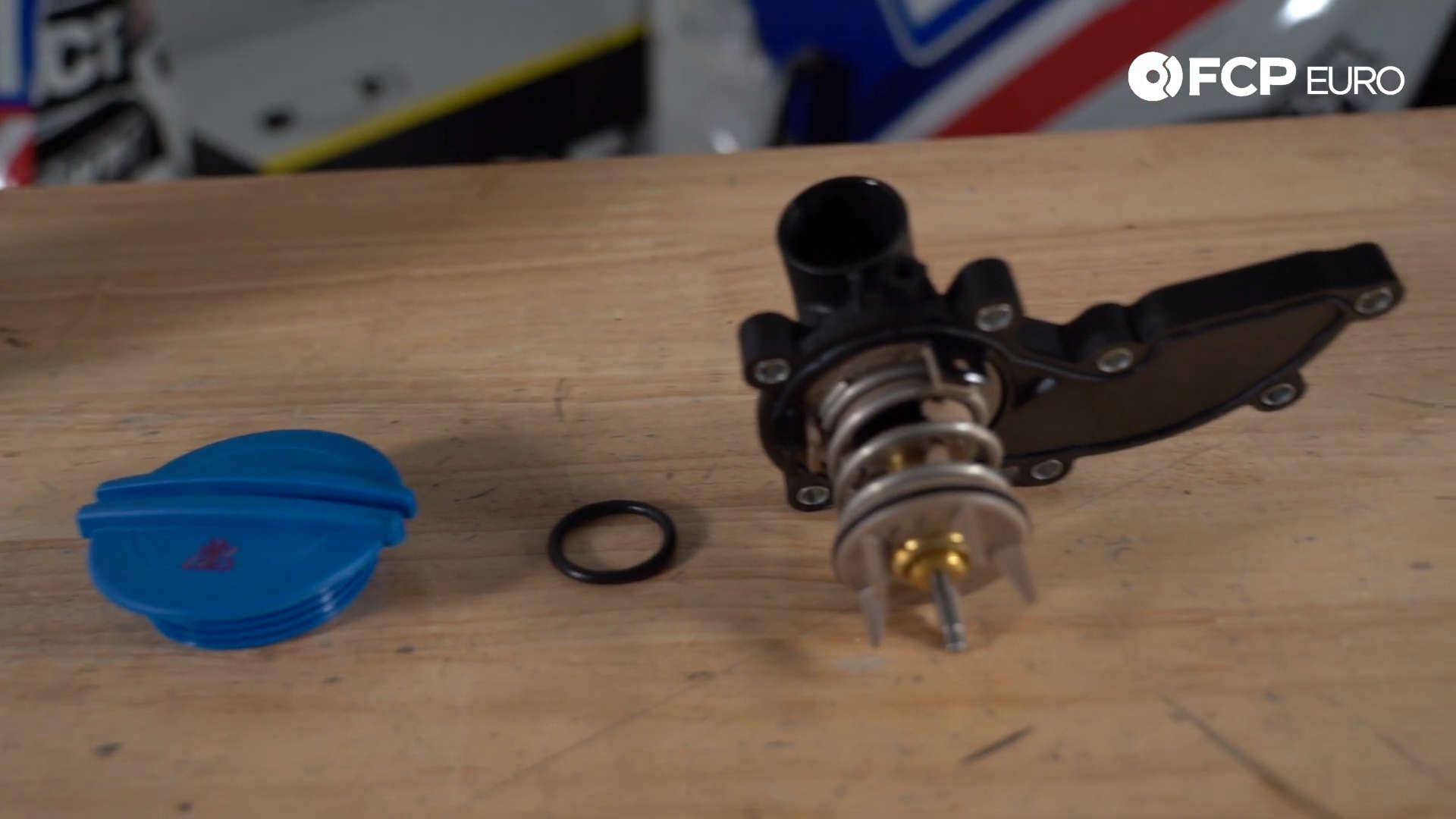 Audi VW Cooling System Kit Closeup