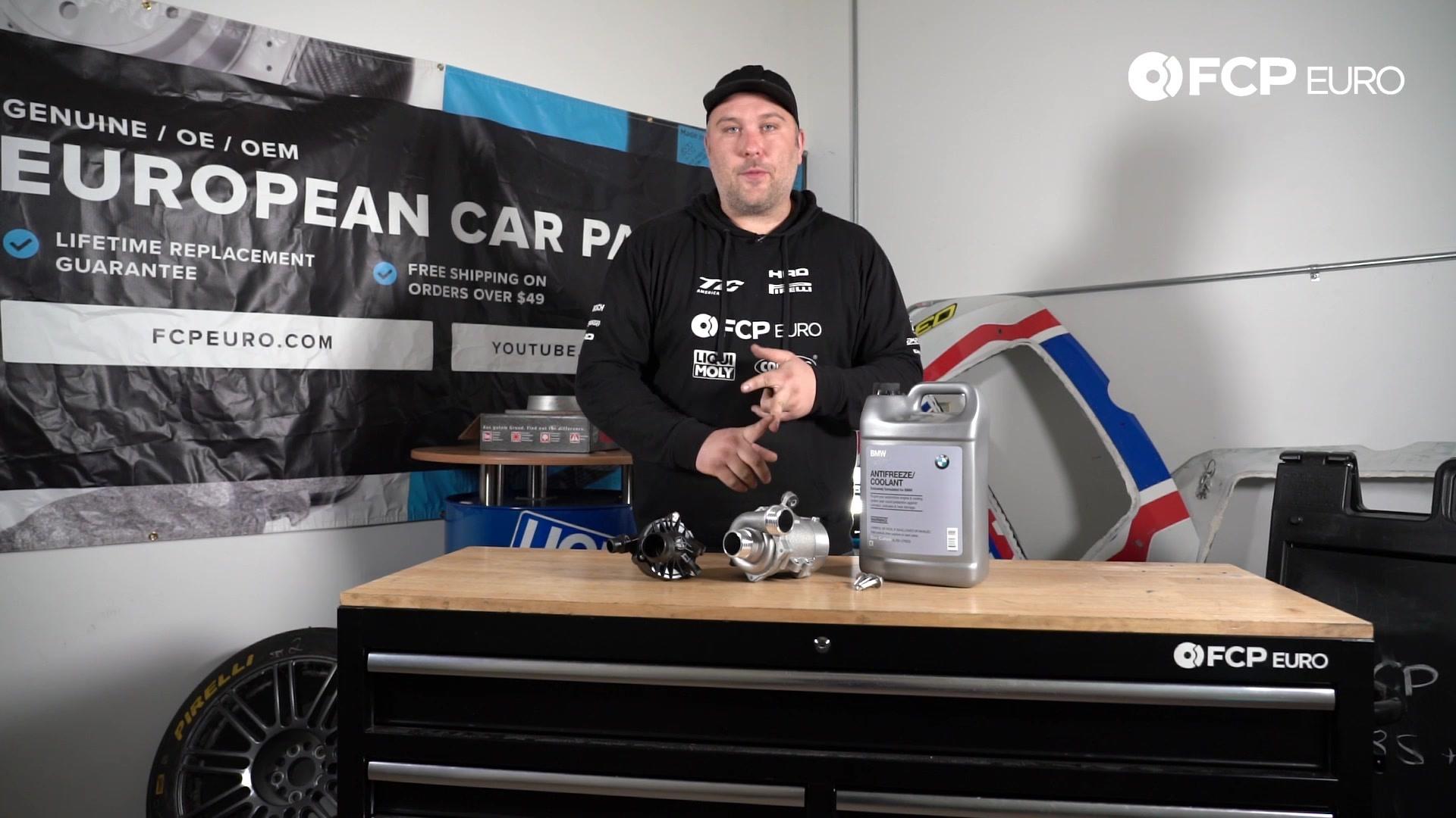 BMW N52 Water Pump Kit Gareth