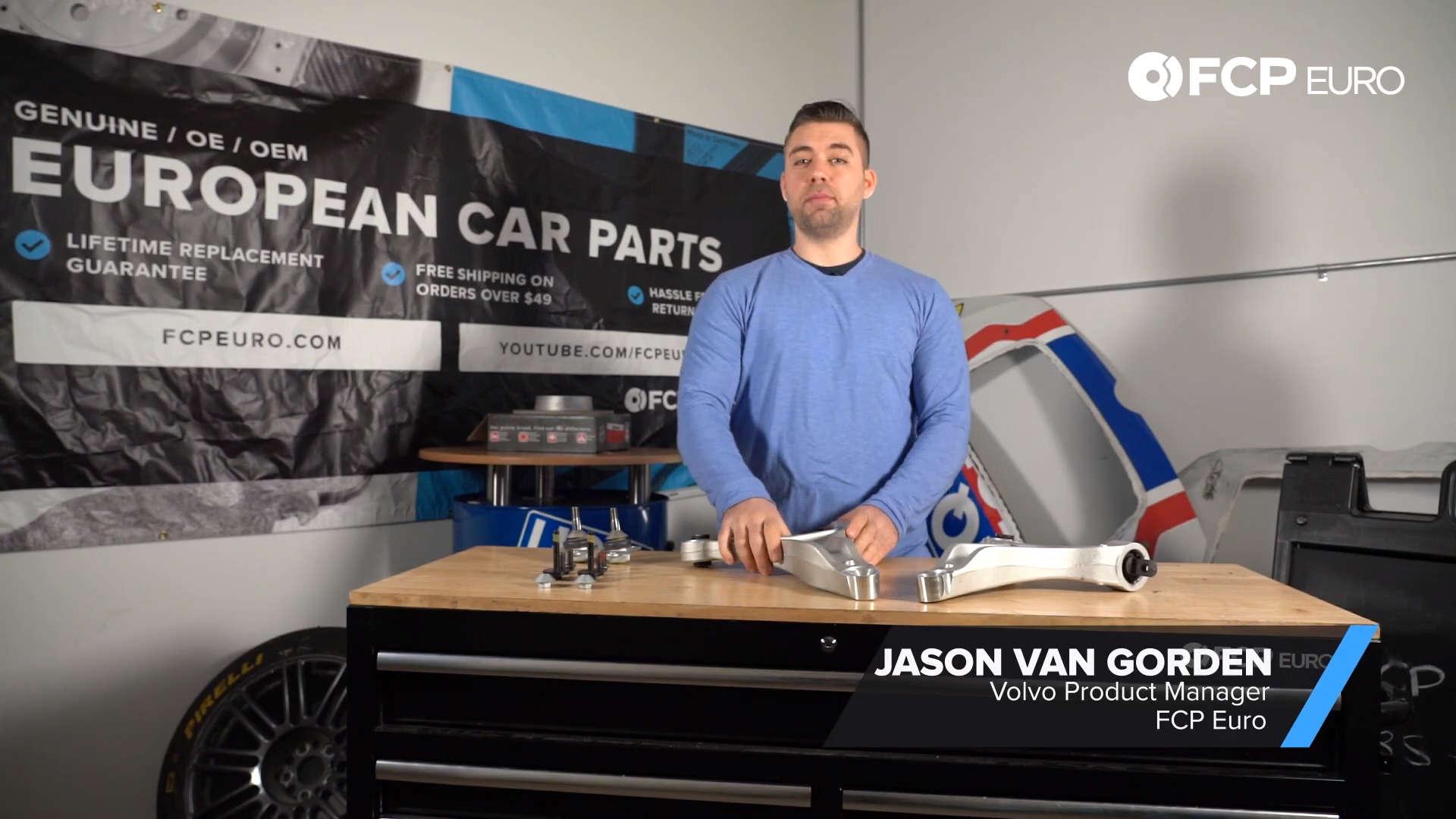 Volvo XC70 Control Arm Kit Jay