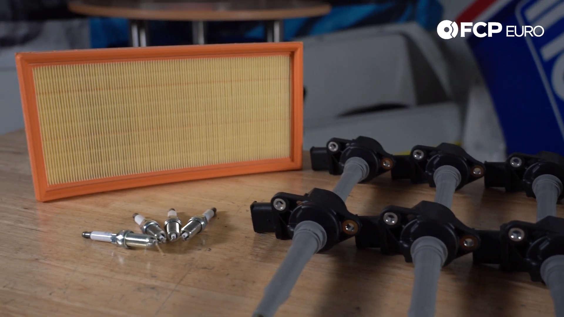 Mercedes Ignition Service Kit Closeup