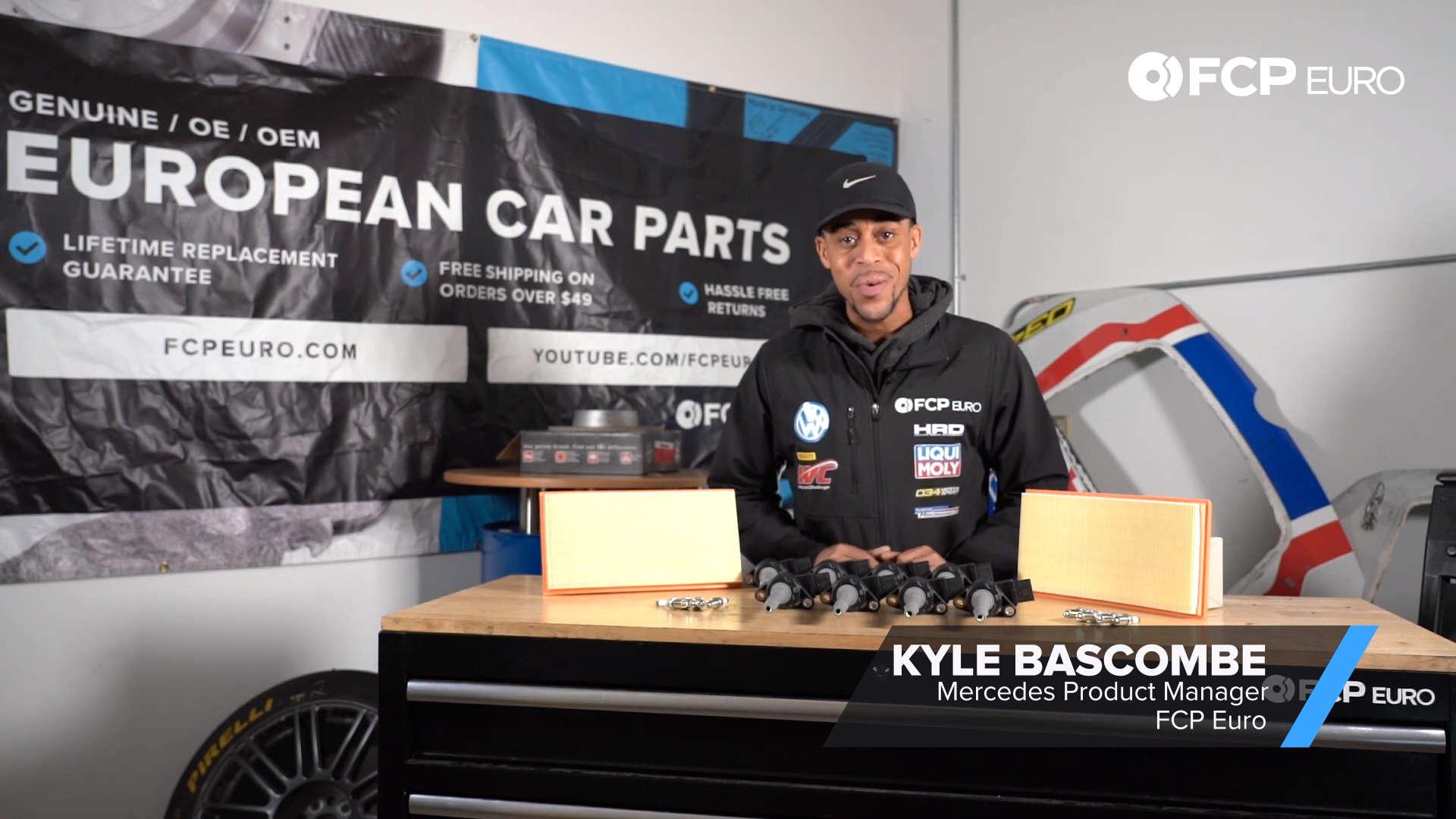 Mercedes AMG Ignition Service Kit Kyle