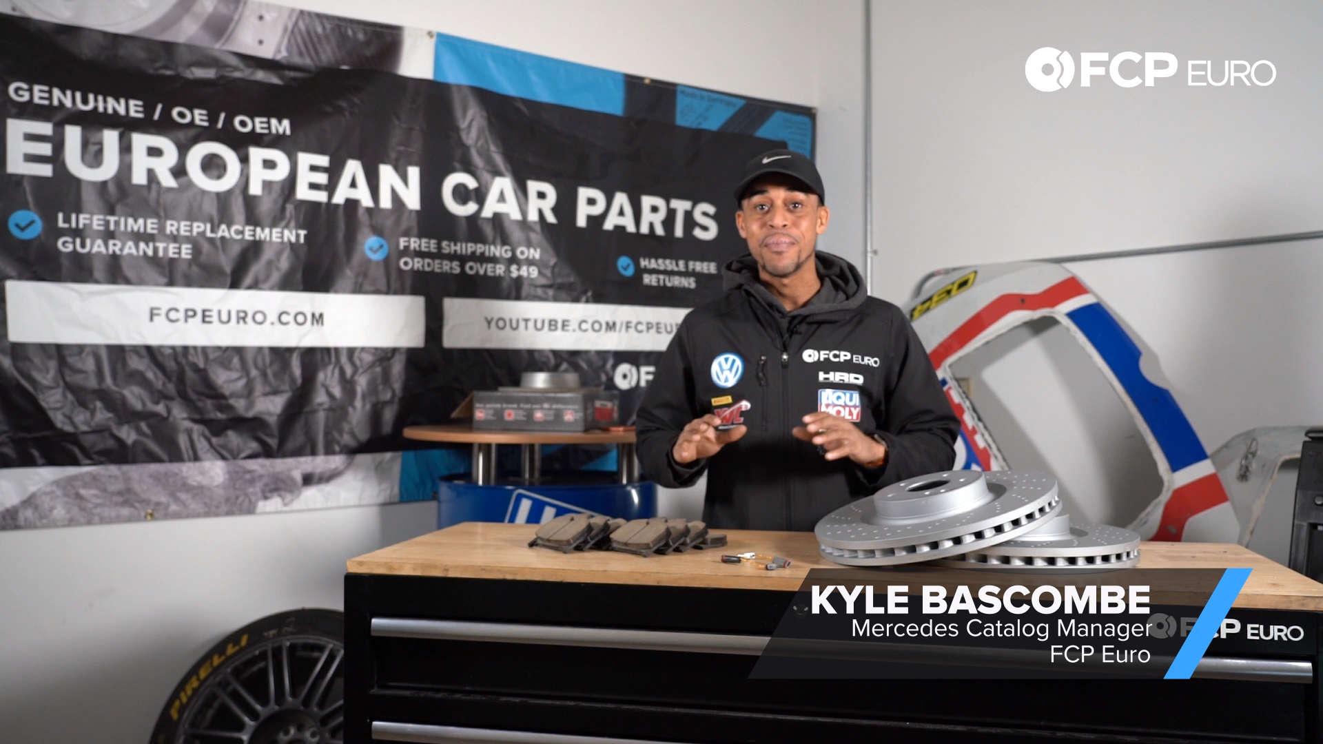 Mercedes Brake Kit Kyle