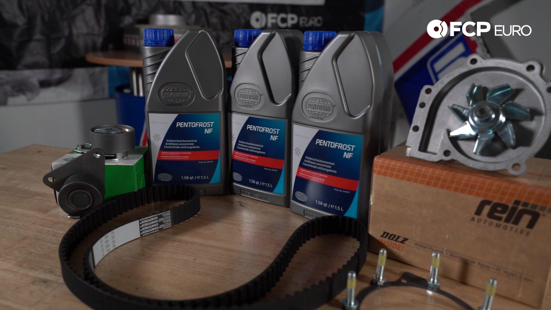 Volvo Timing Belt Kit Closeup