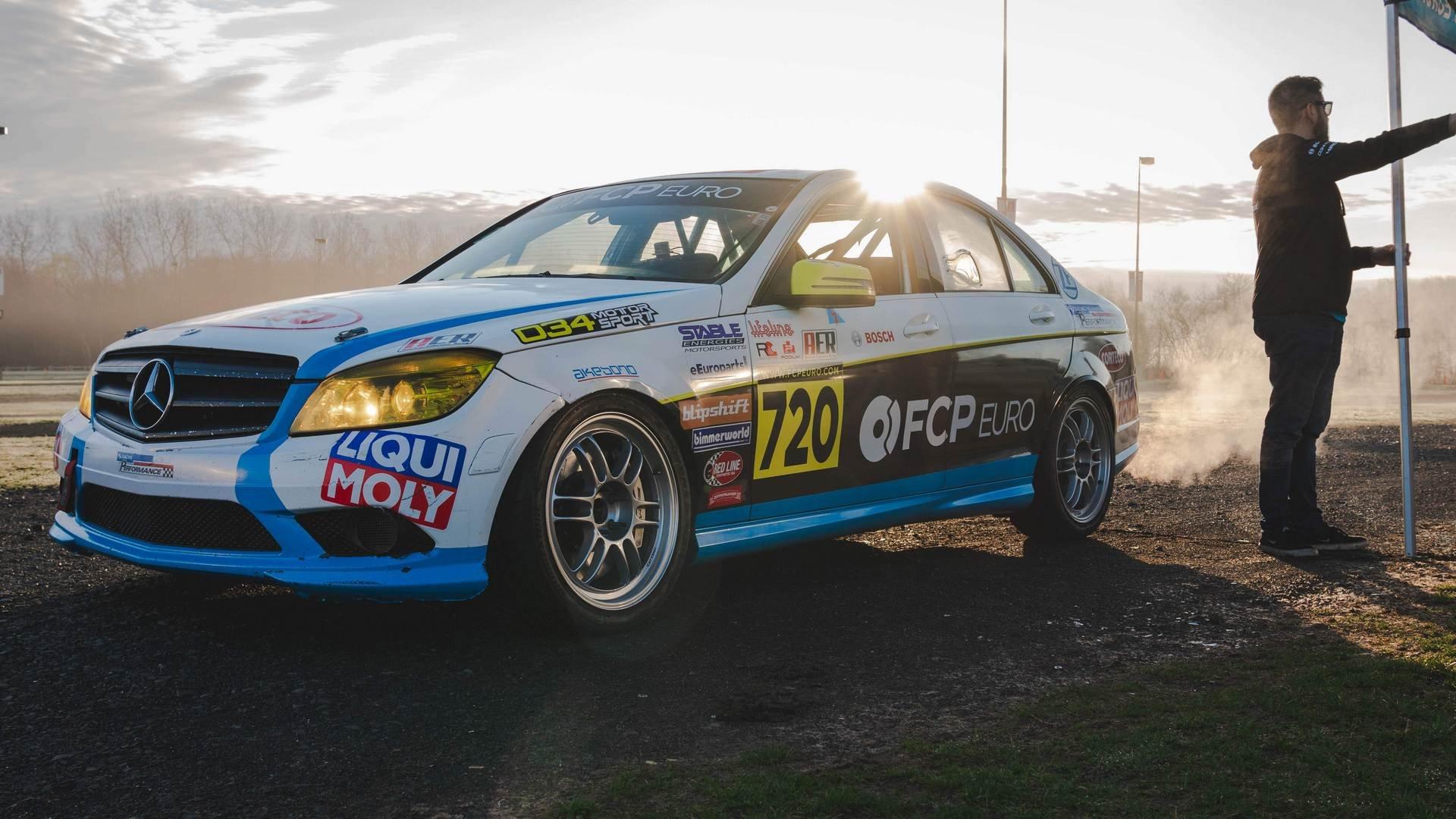 FCP Euro UC3 Car Show 2019 c300 Booth Car