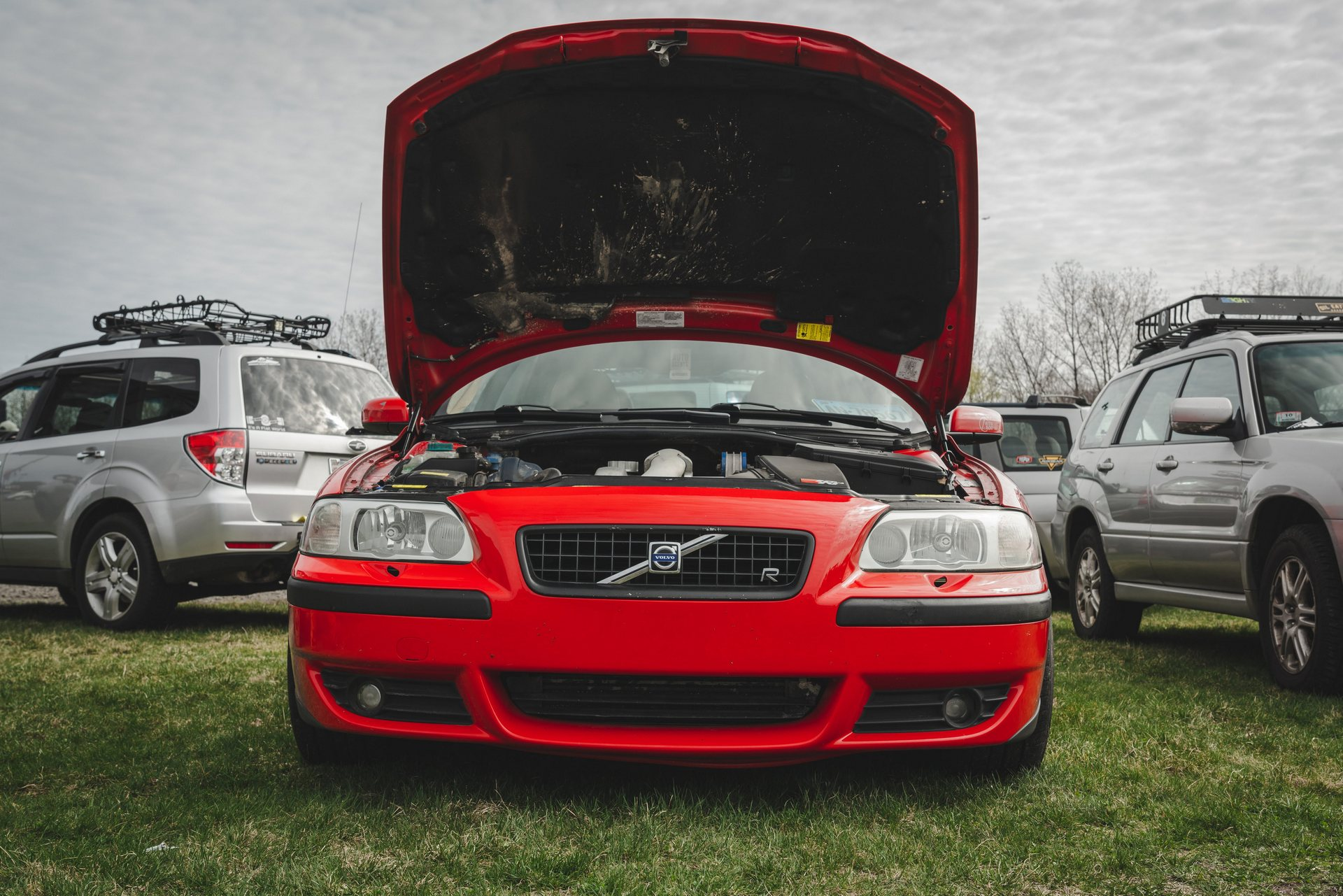 FCP Euro UC3 Car Show 2019 Red S60R