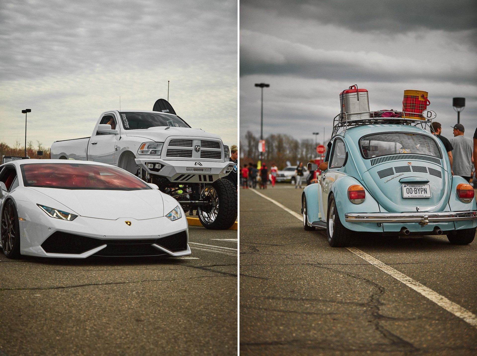 FCP Euro UC3 Car Show 2019 Lambo and Beetle