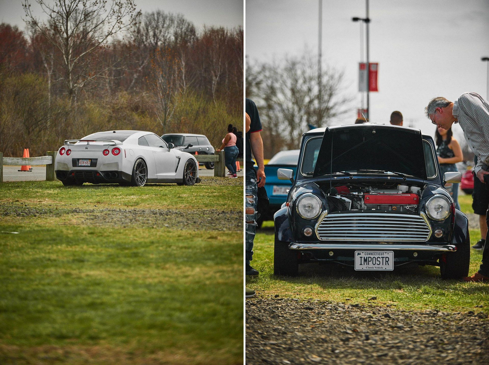 FCP Euro UC3 Car Show 2019 Nissan GTR and Swapped Mini Cooper