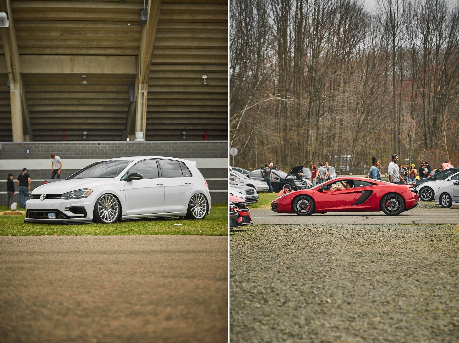 FCP Euro UC3 Car Show 2019 Golf R and McLaren