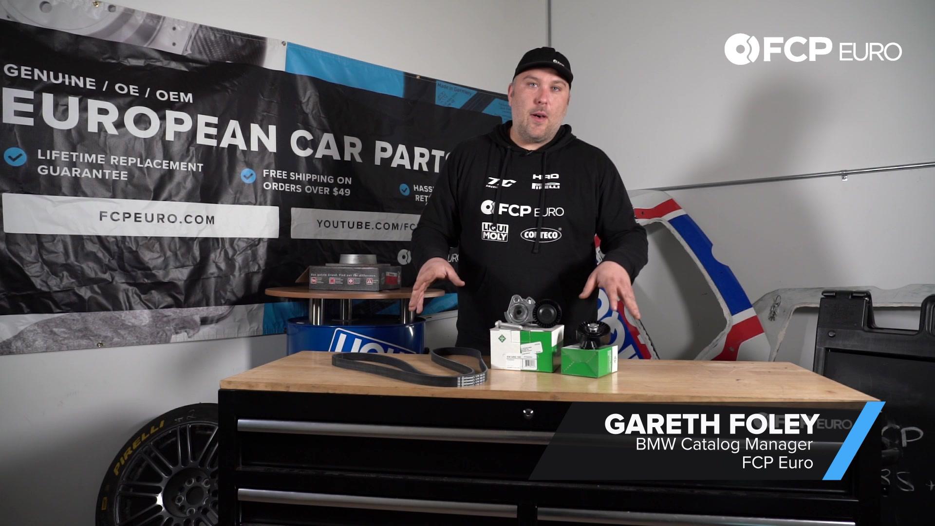 BMW Accessory Drive Belt Kit Gareth