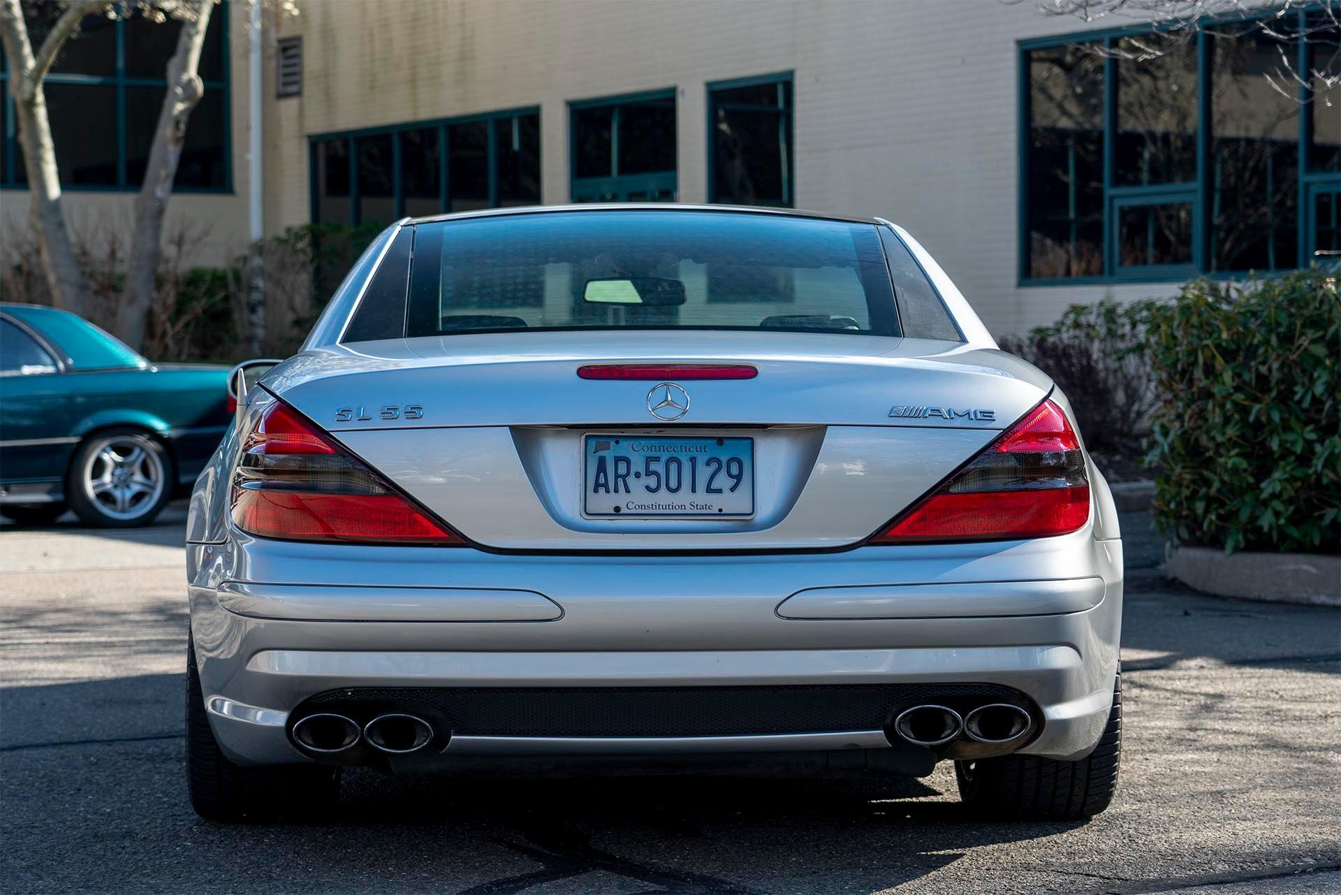 Mercedes-Benz SL55 AMG VRP Rear