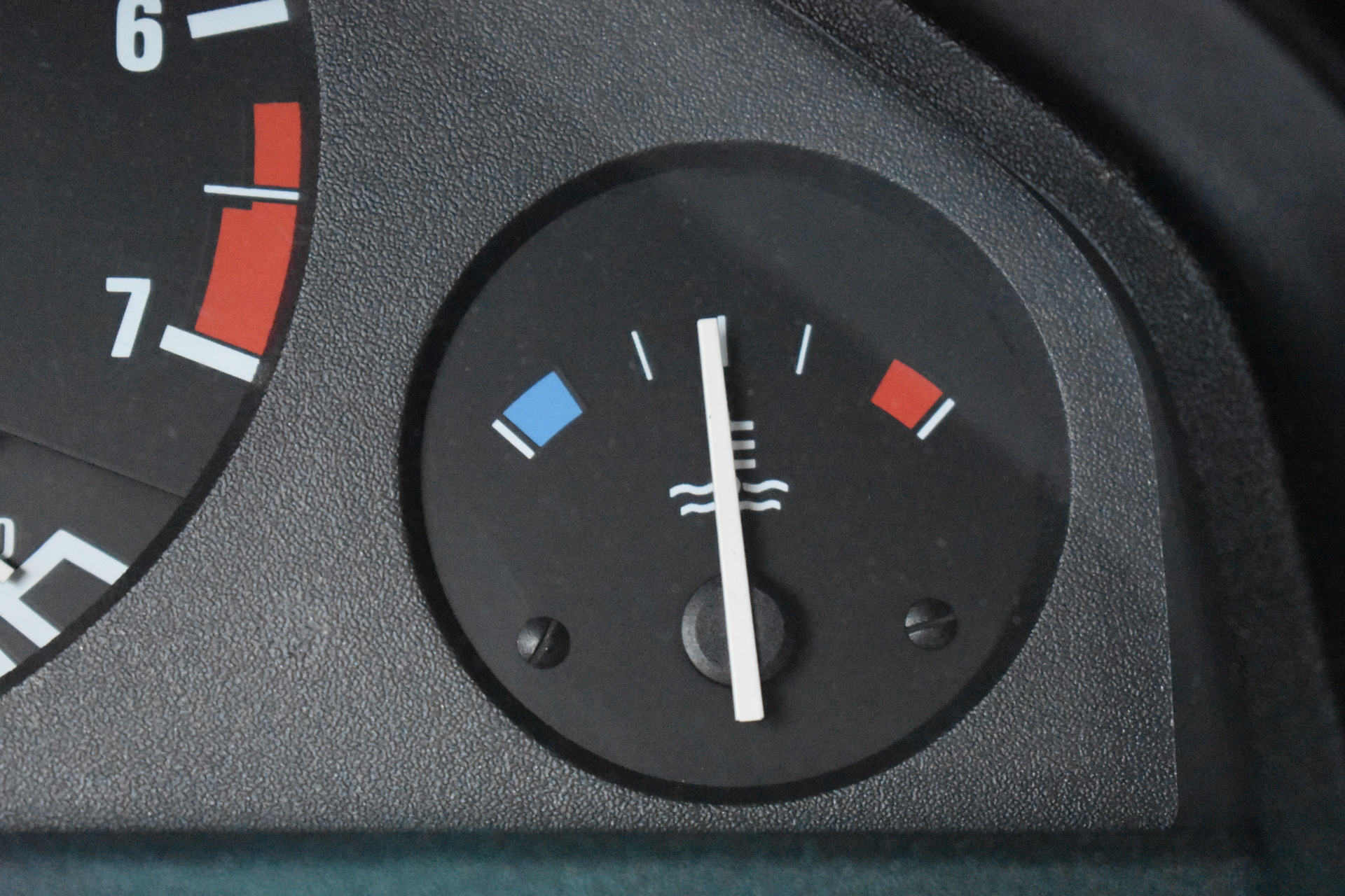 BMW E30 Buyers Guide Temp Gauge