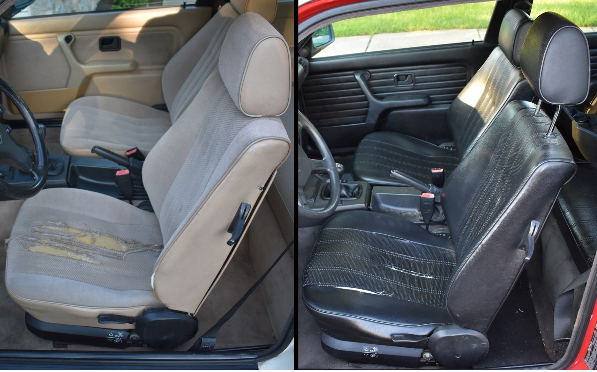 BMW E30 Buyers Guide Ripped Seats
