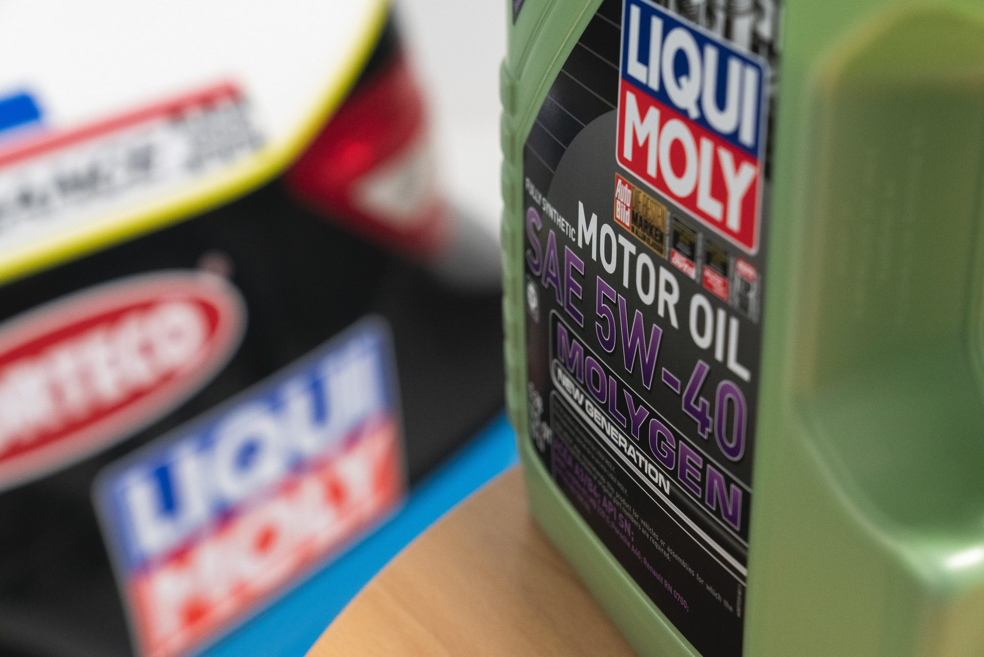 LIQUI MOLY MOLYGEN Bottle