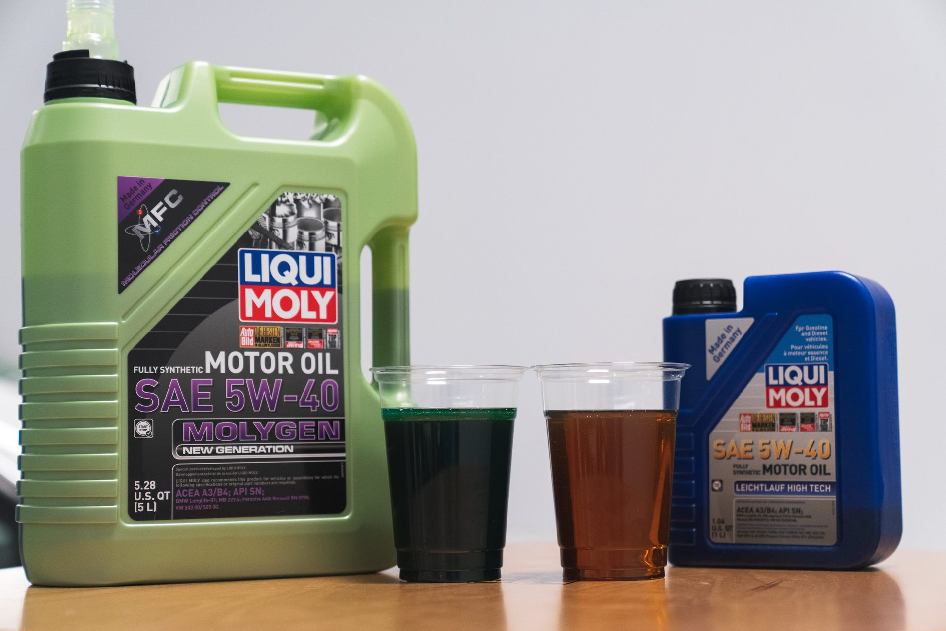 LIQUI MOLY Molygen 5W-40 Comparison