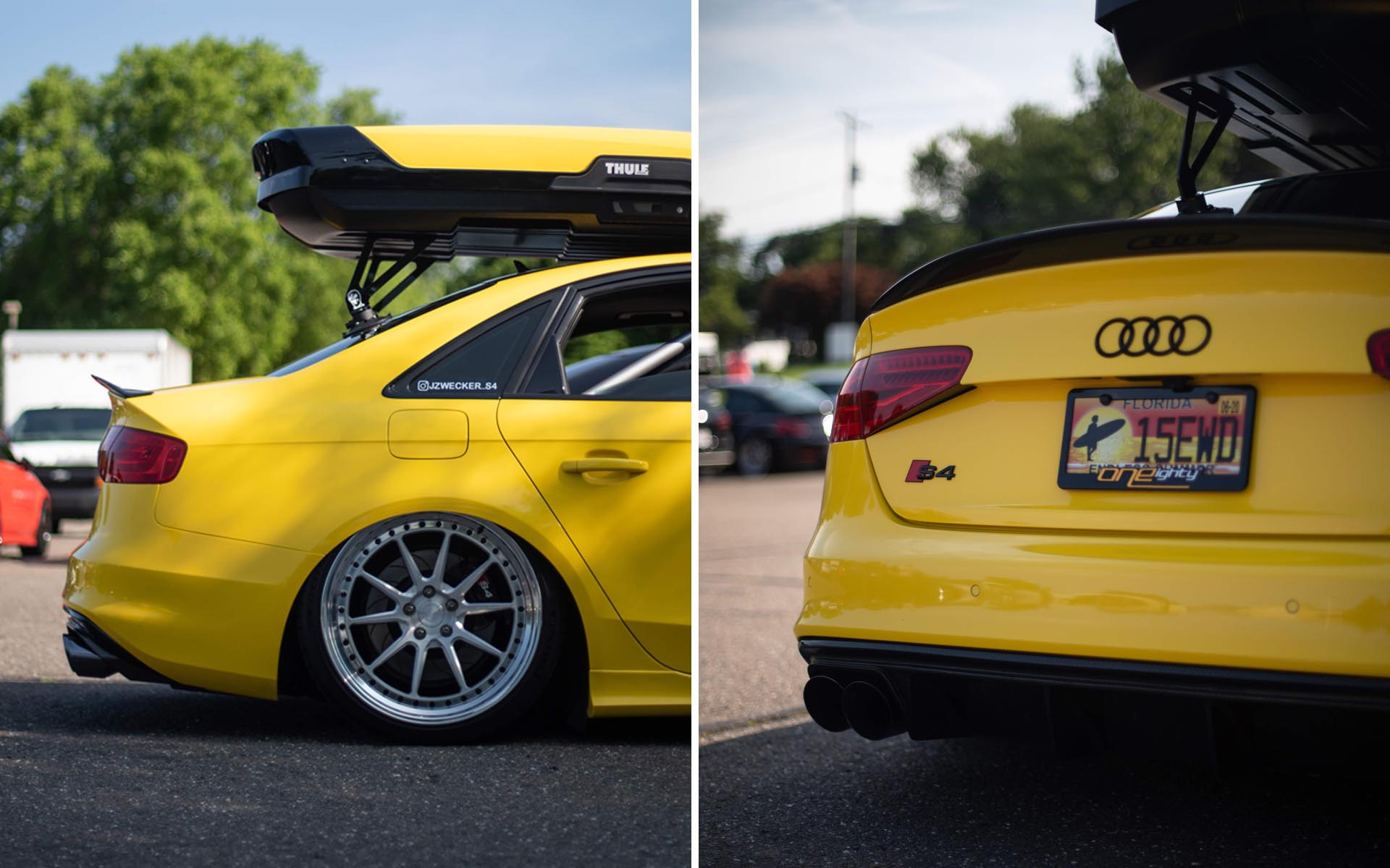 FCP Euro Cars and Coffee Bagged Yellow Audi