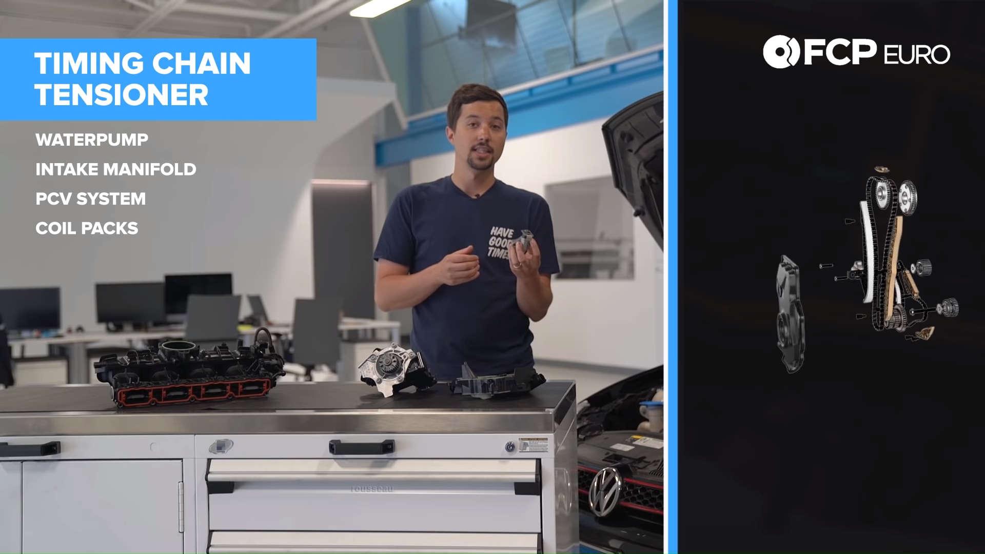 VW MK6 GTI Guide Timing Chain Tensioner