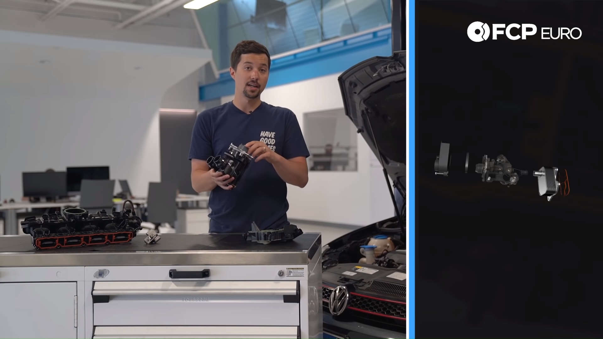 VW MK6 GTI Guide Water Pump