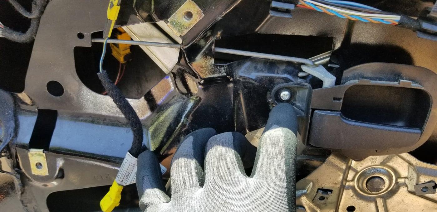 Step 2 - remove inner door handle