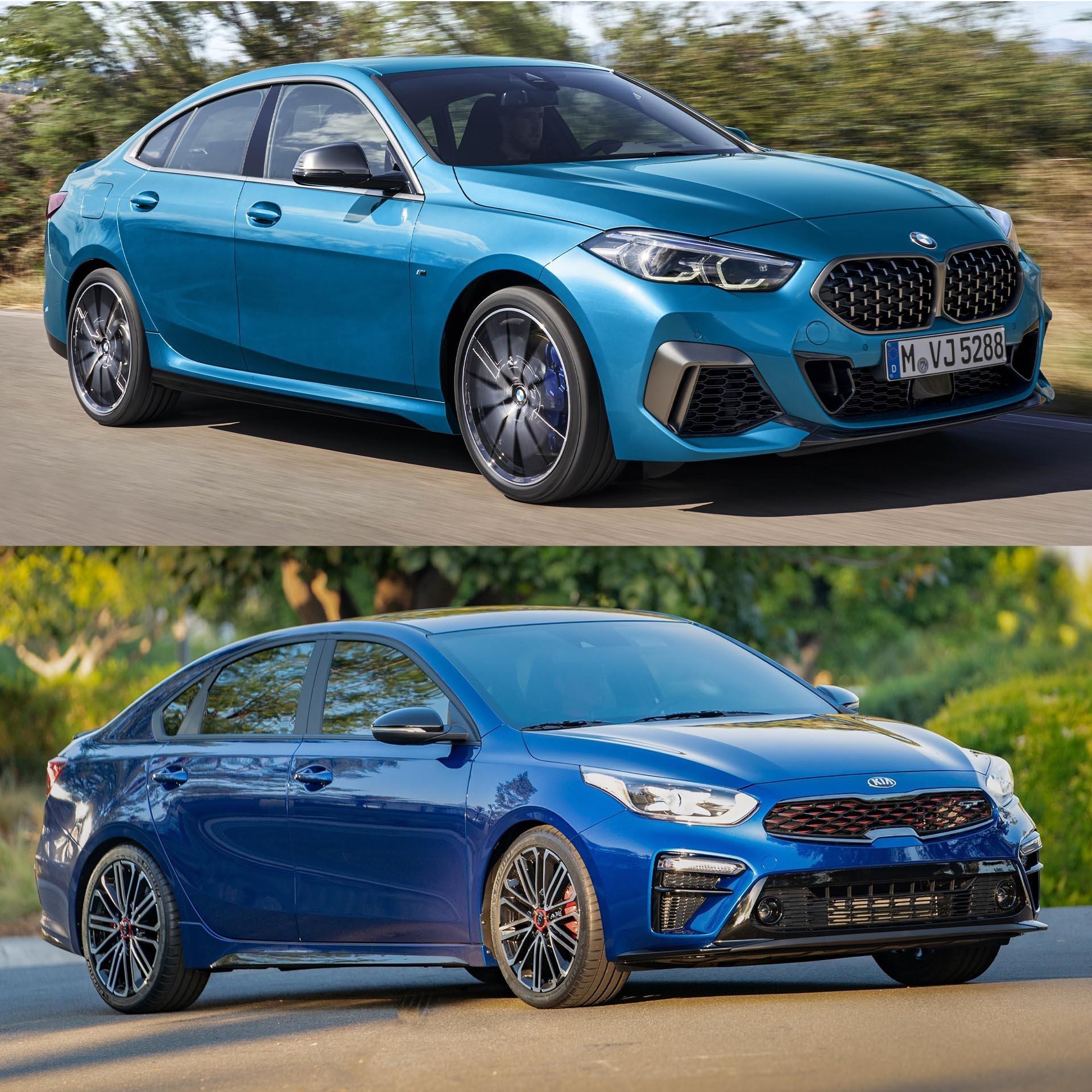 BMW 2-Series Gran Coupe Kia Forte Comparison