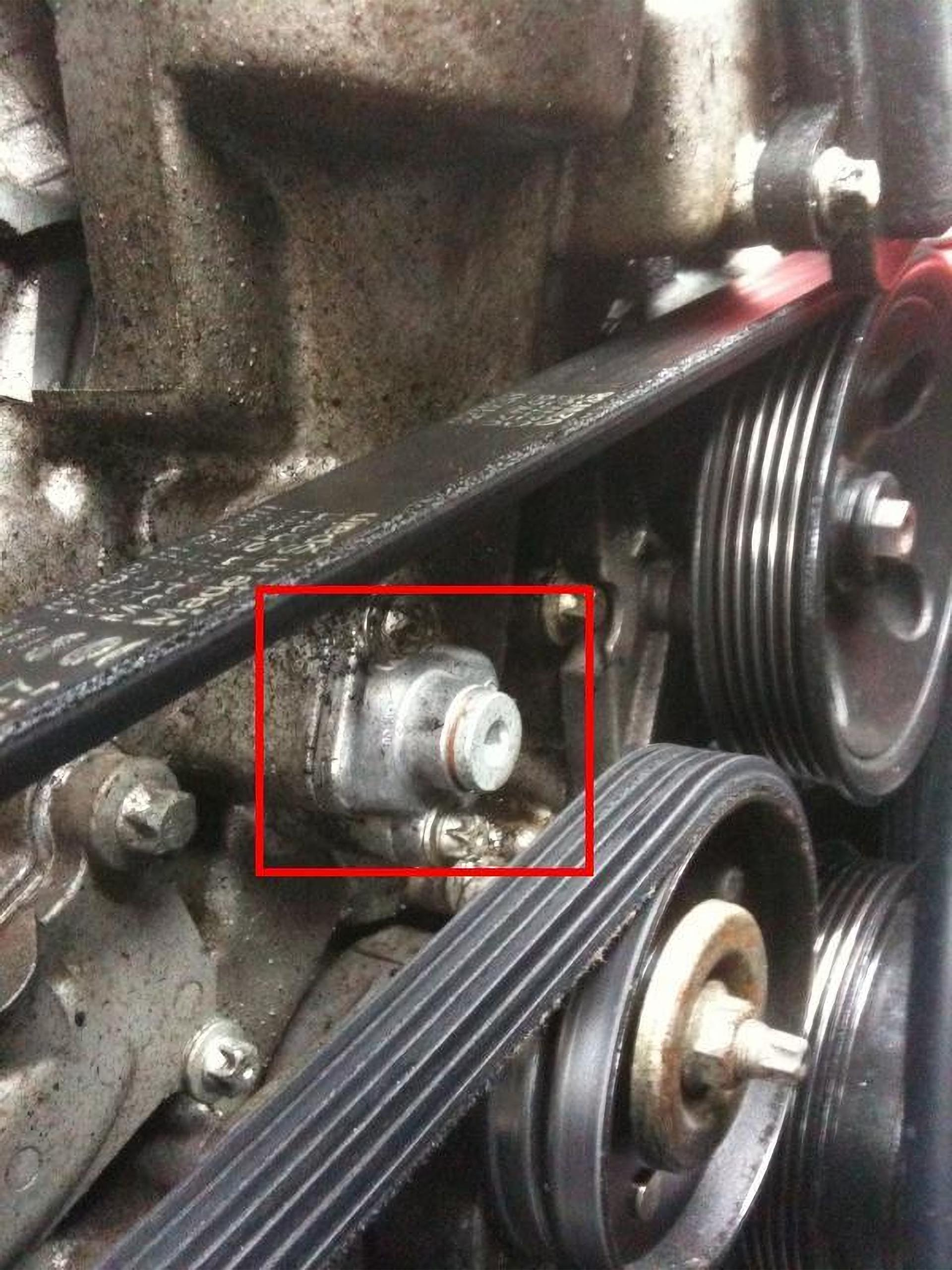 Mercedes-Benz M112 Timing Cover Plug