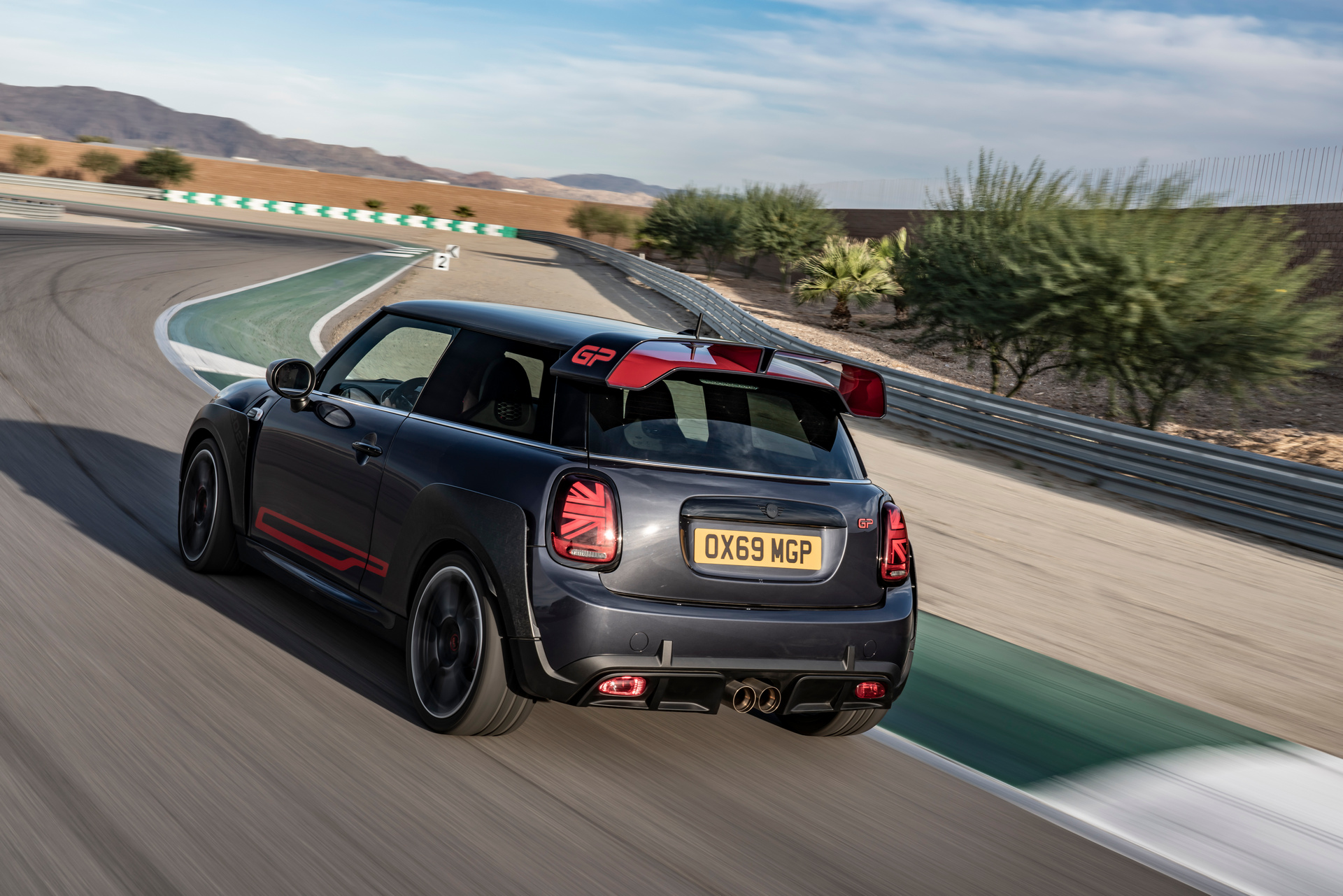 2020 MINI JCW GP Engine Exterior Rear