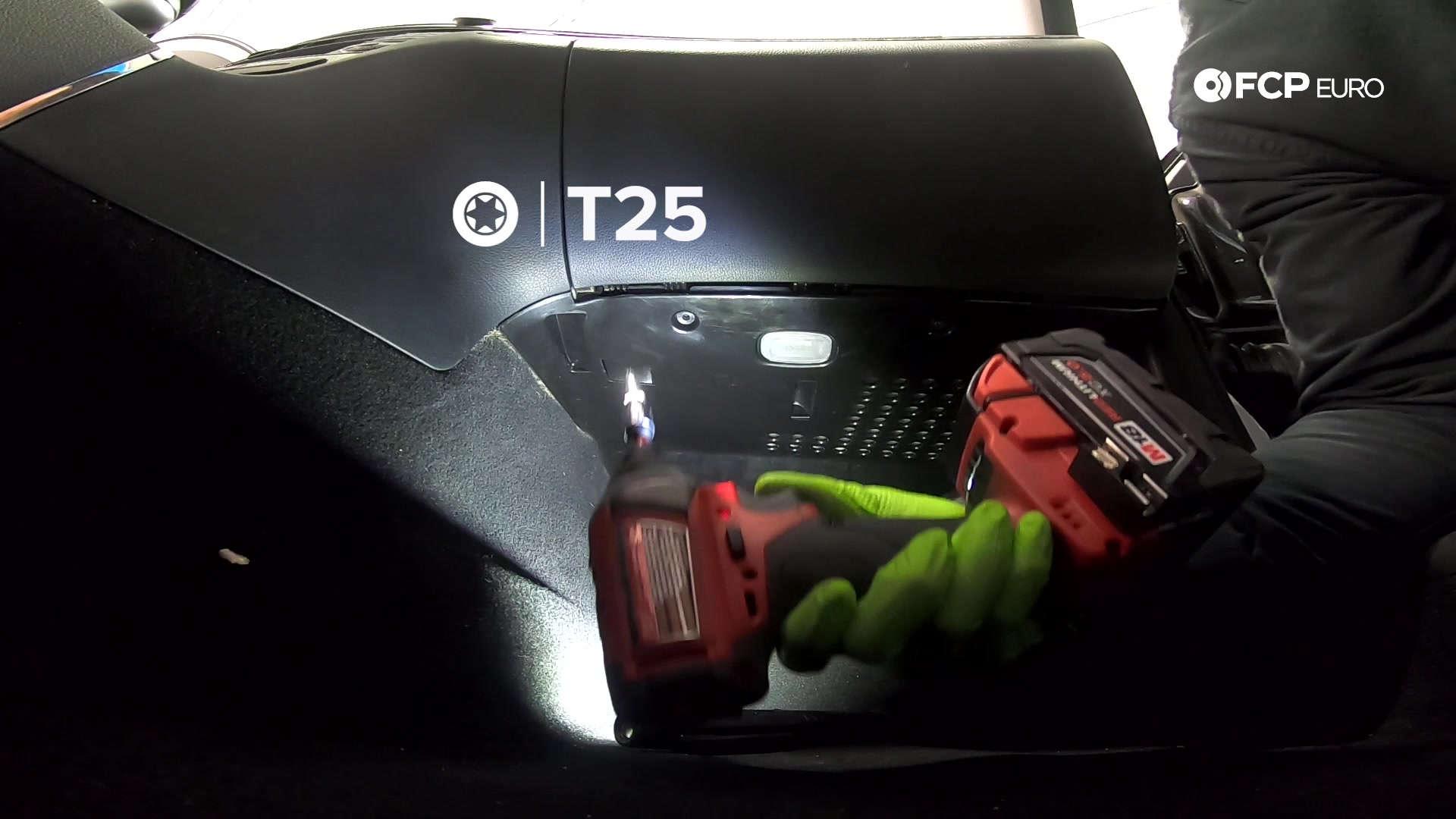 02-mercedes-w211-blower-motor-kick-panel-removal