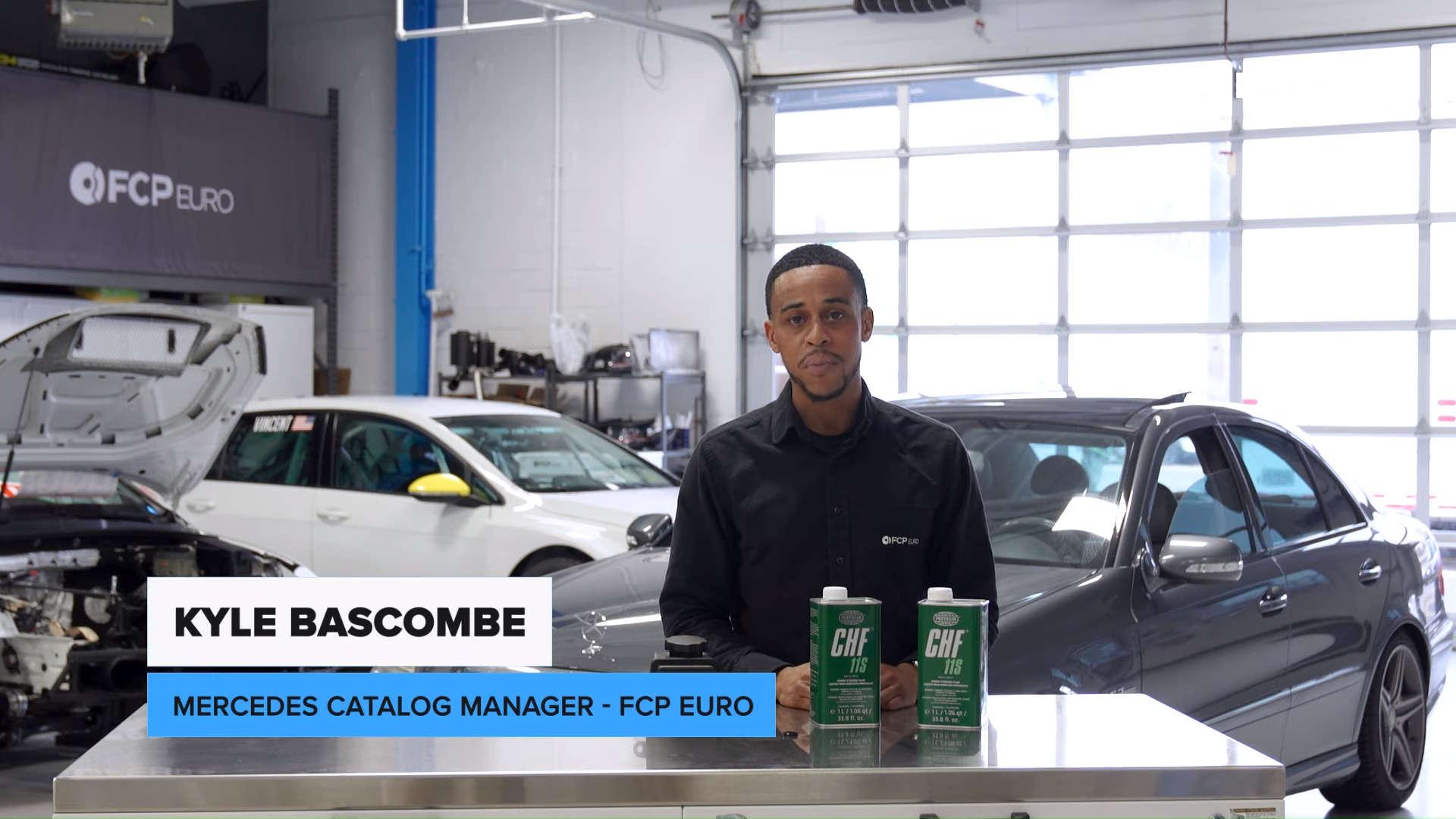 Mercedes-Benz W211 Power Steering Fluid Reservoir Kyle Bascombe