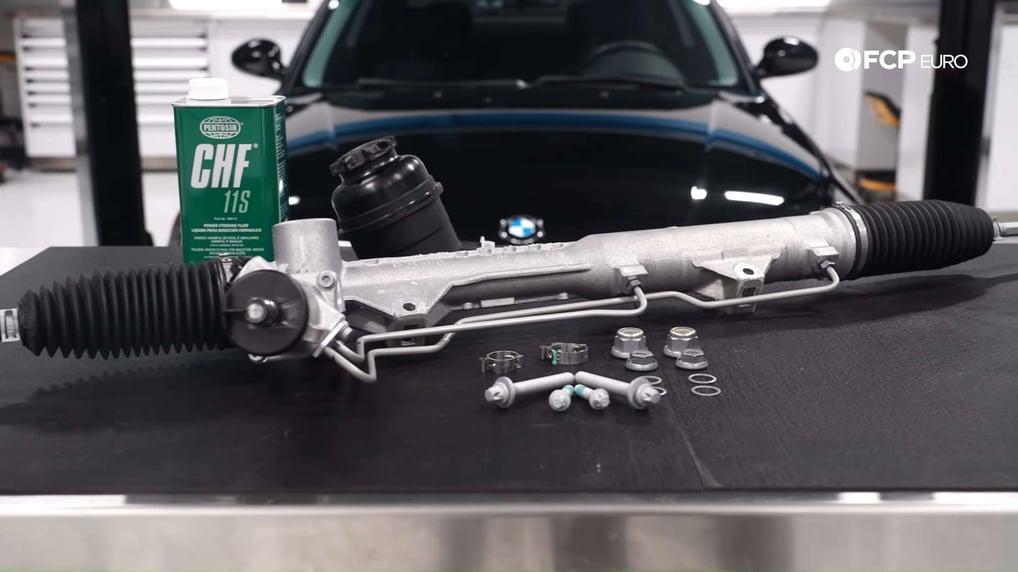 BMW E90 & E82 Steering Rack Overhaul Kit